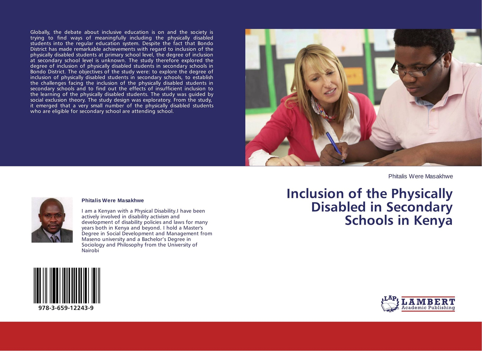 Phitalis Were Masakhwe Inclusion of the Physically Disabled in Secondary Schools in Kenya christopher blake oral esl test anxiety with emirati secondary school students