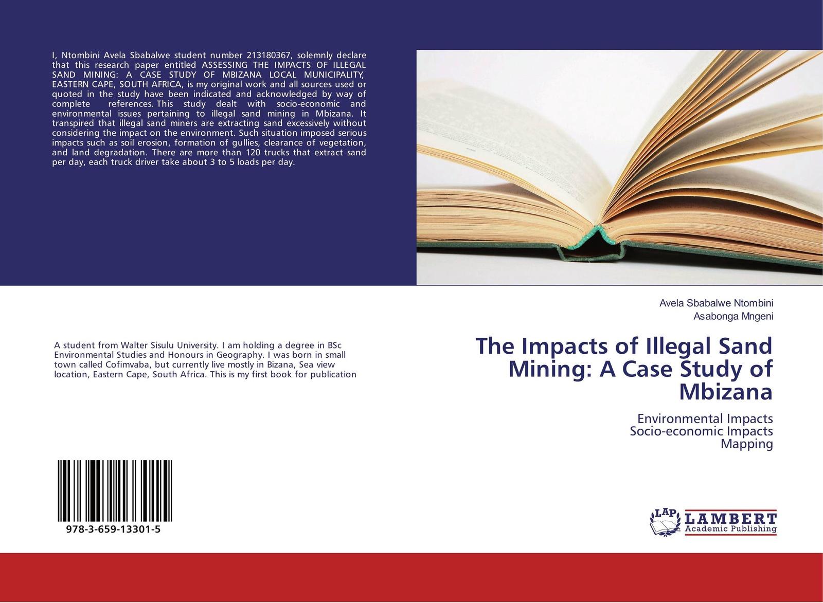 Avela Sbabalwe Ntombini and Asabonga Mngeni The Impacts of Illegal Sand Mining: A Case Study of Mbizana friendly eastern border the case study of podlaskie voivodship