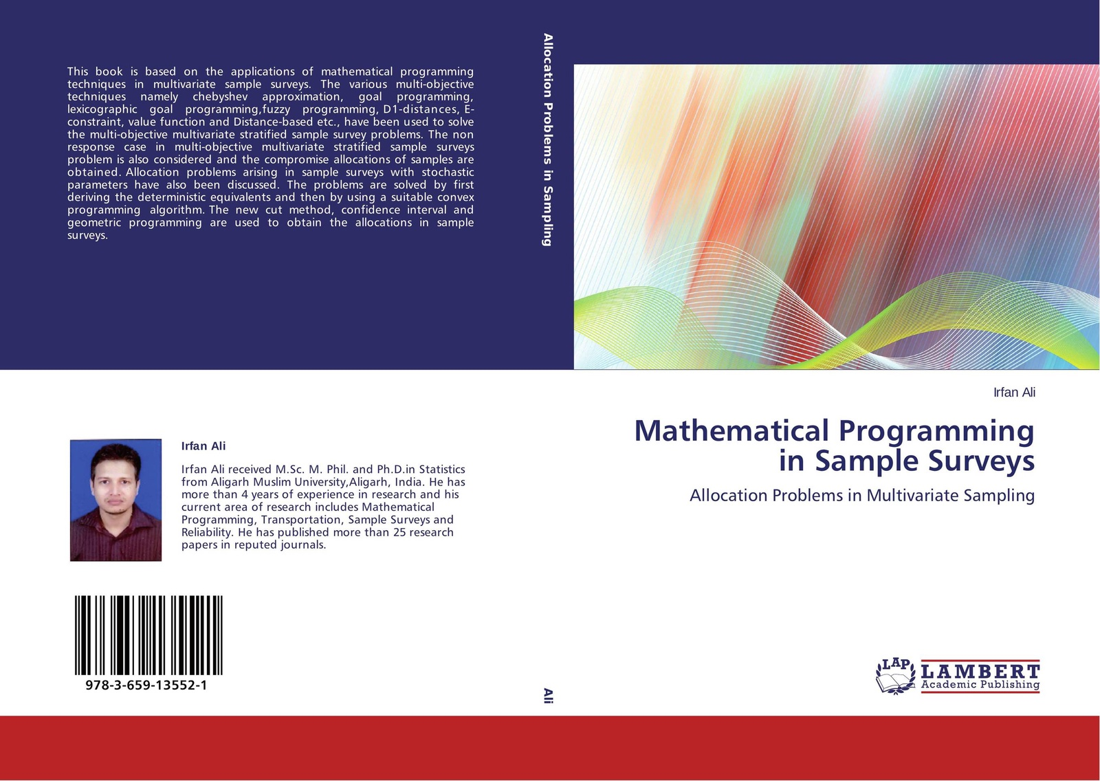 лучшая цена Irfan Ali Mathematical Programming in Sample Surveys