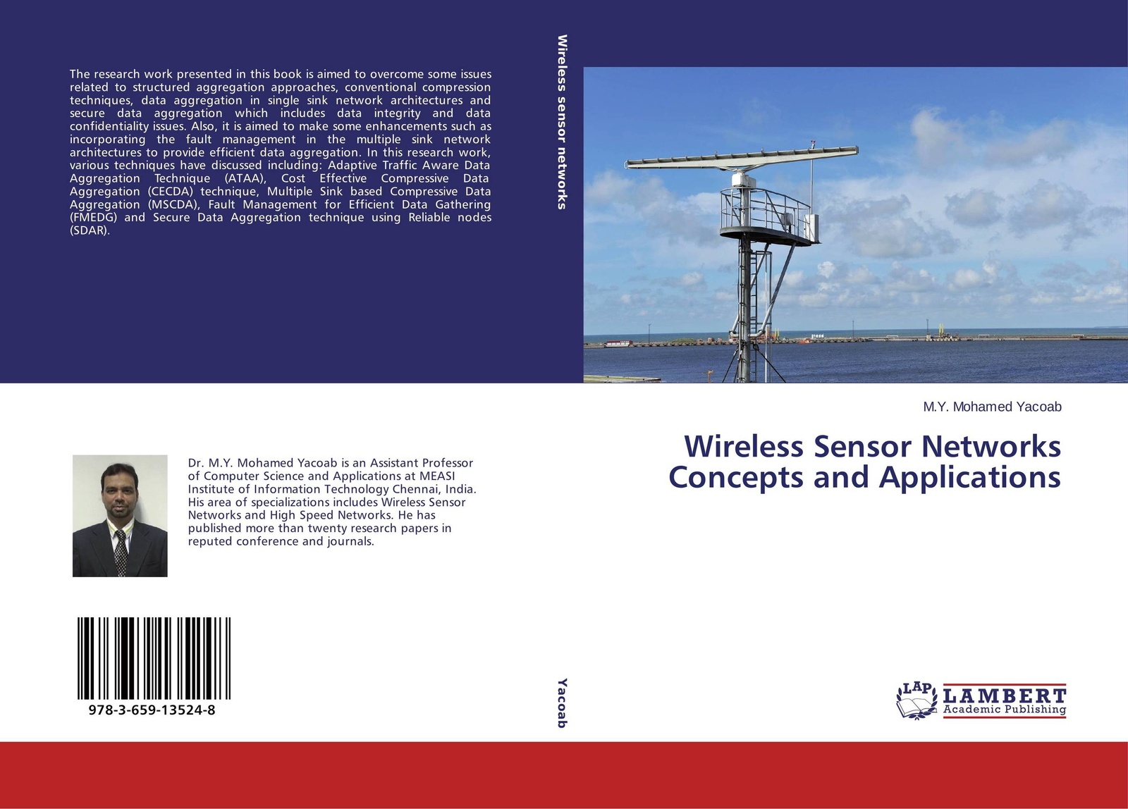 M.Y. Mohamed Yacoab Wireless Sensor Networks Concepts and Applications цены