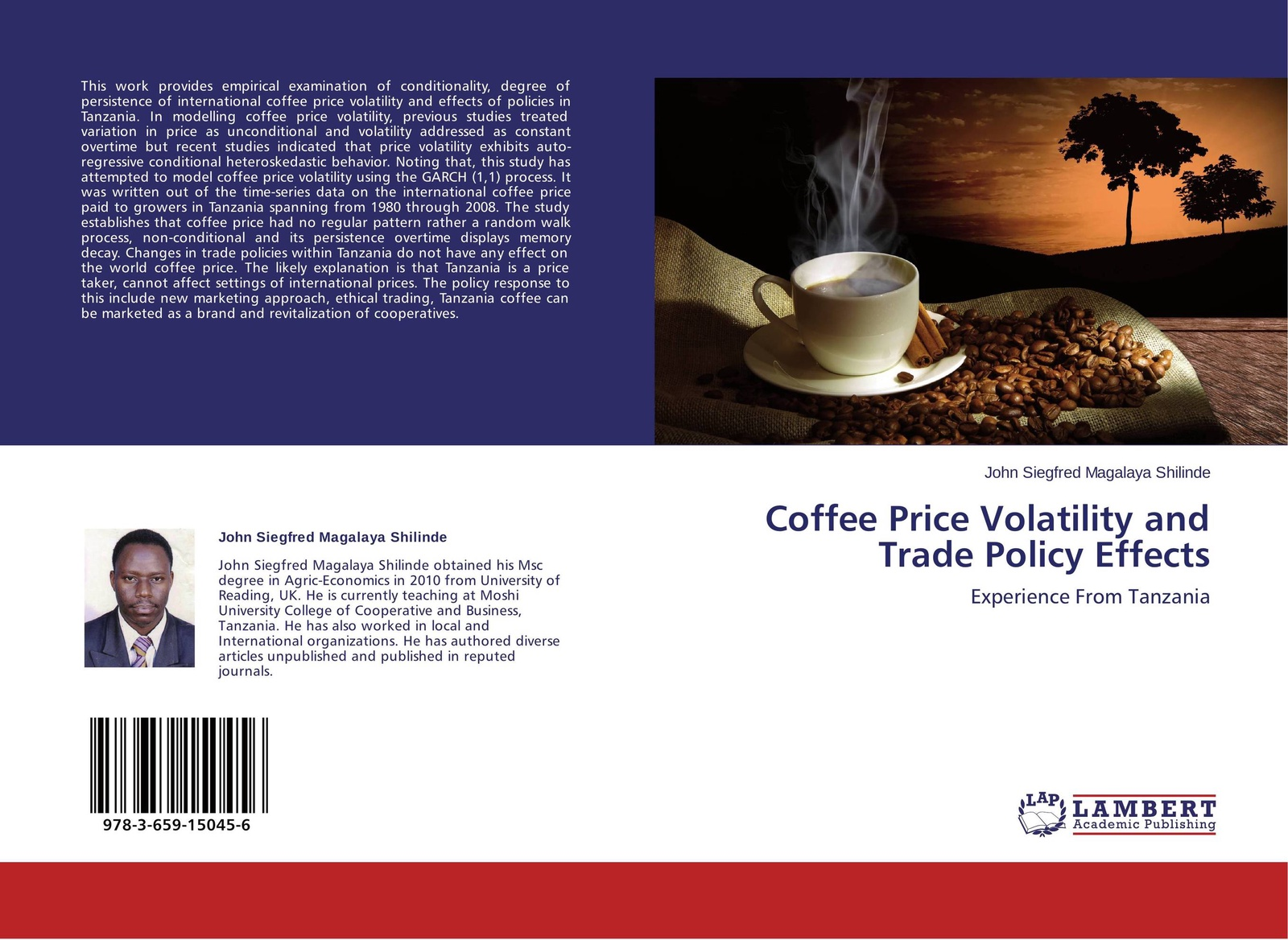 John Siegfred Magalaya Shilinde Coffee Price Volatility and Trade Policy Effects belay belete anjullo and ayele taye the determinants of domestic price volatility for cereals in ethiopia