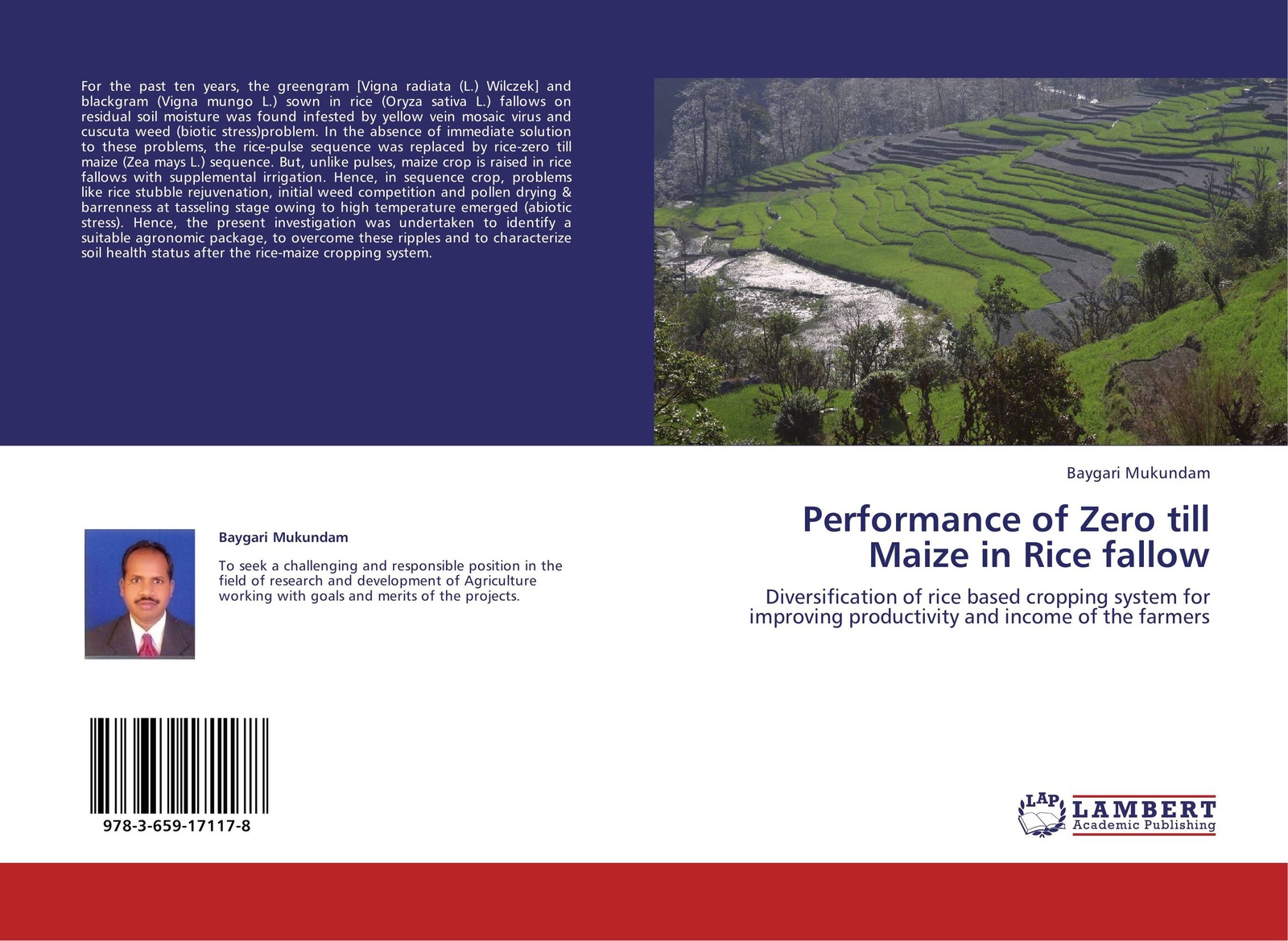Baygari Mukundam Performance of Zero till Maize in Rice fallow shakuntala meena r k mathukia and v d khanpara weed management in summer greengram vigna radiata l page 3