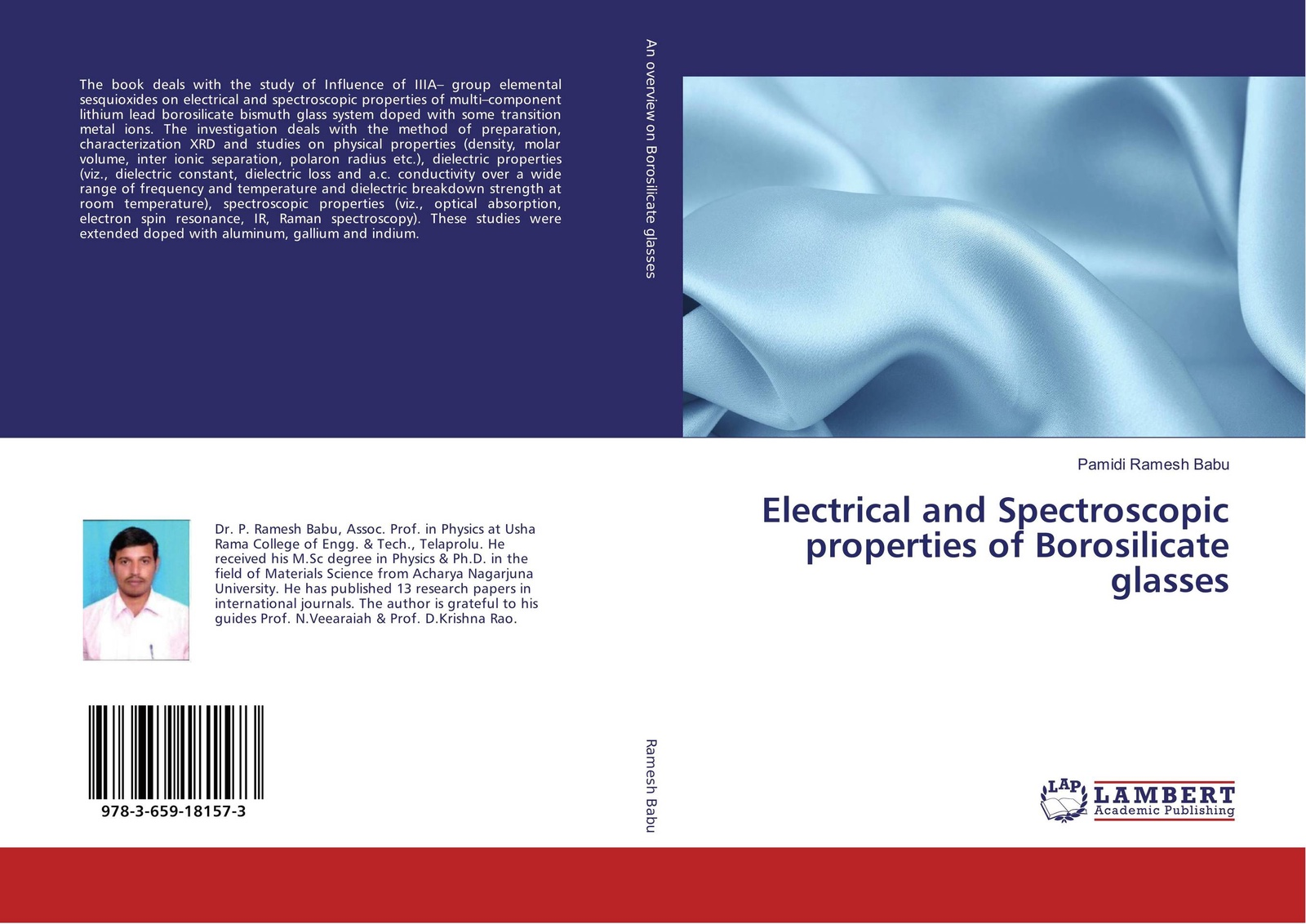 Pamidi Ramesh Babu Electrical and Spectroscopic properties of Borosilicate glasses magnetic and dielectric properties of materials