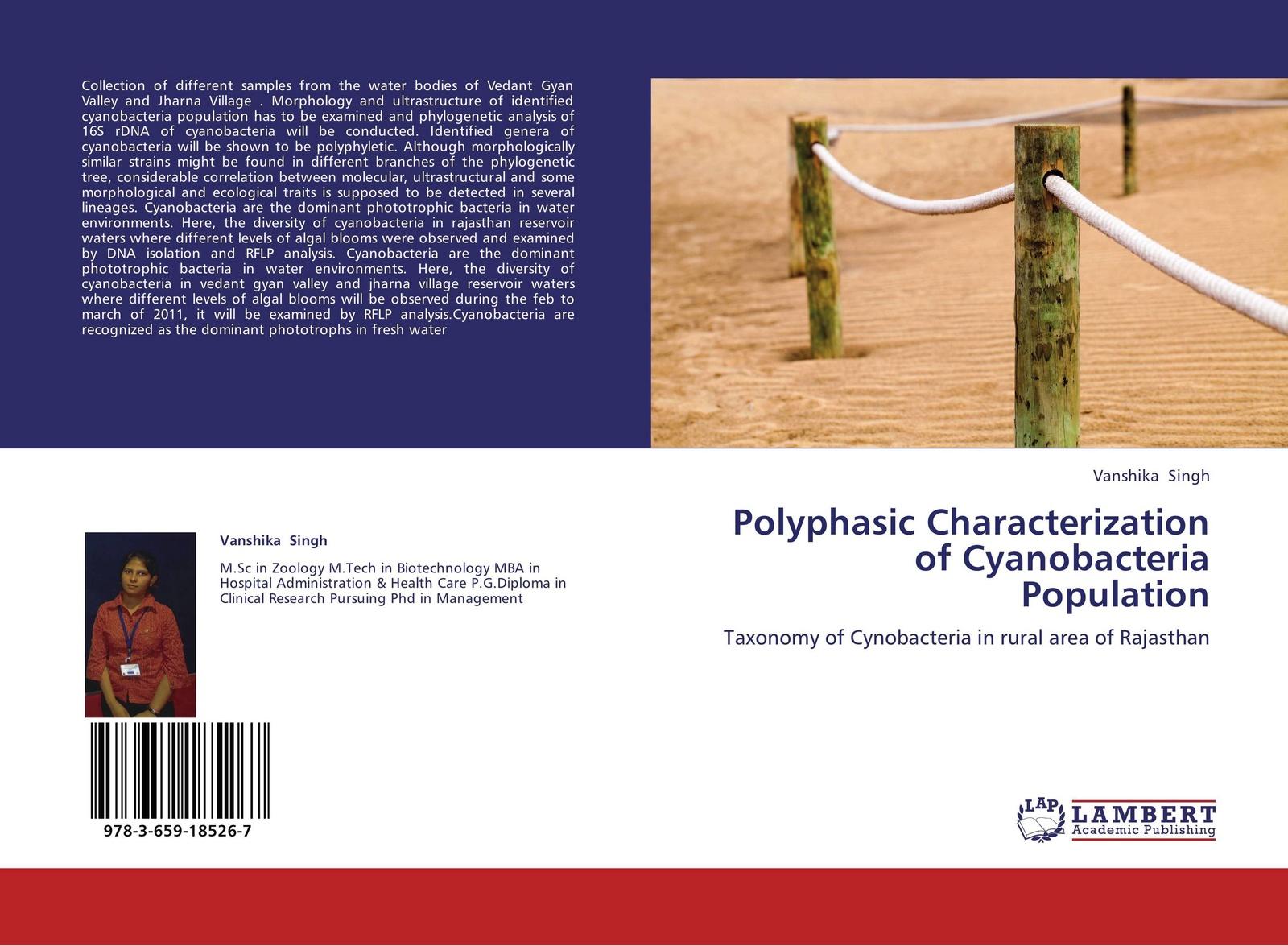 Vanshika Singh Polyphasic Characterization of Cyanobacteria Population algal diversity