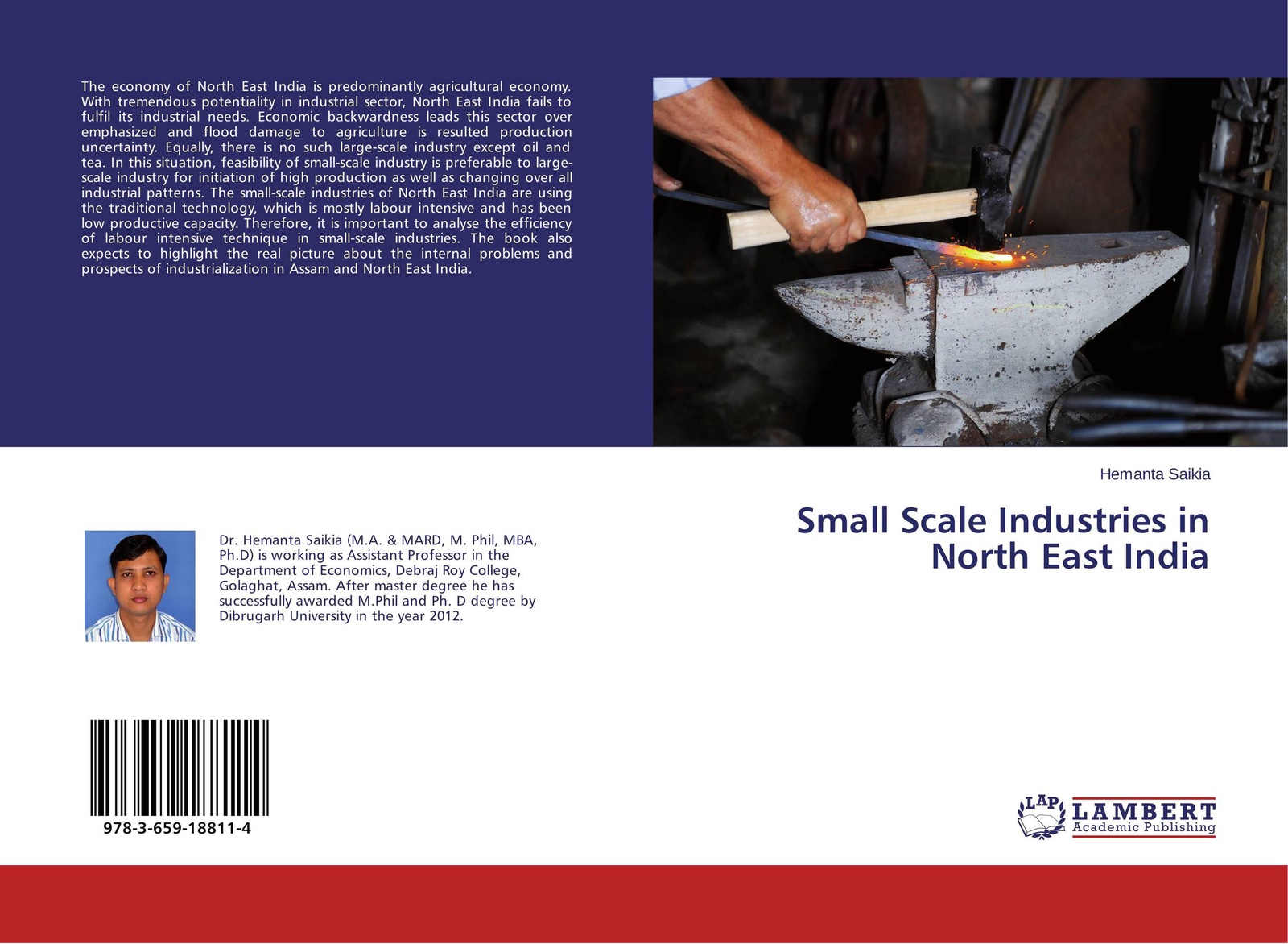 Hemanta Saikia Small Scale Industries in North East India development of small scale food industry cluster in indonesia