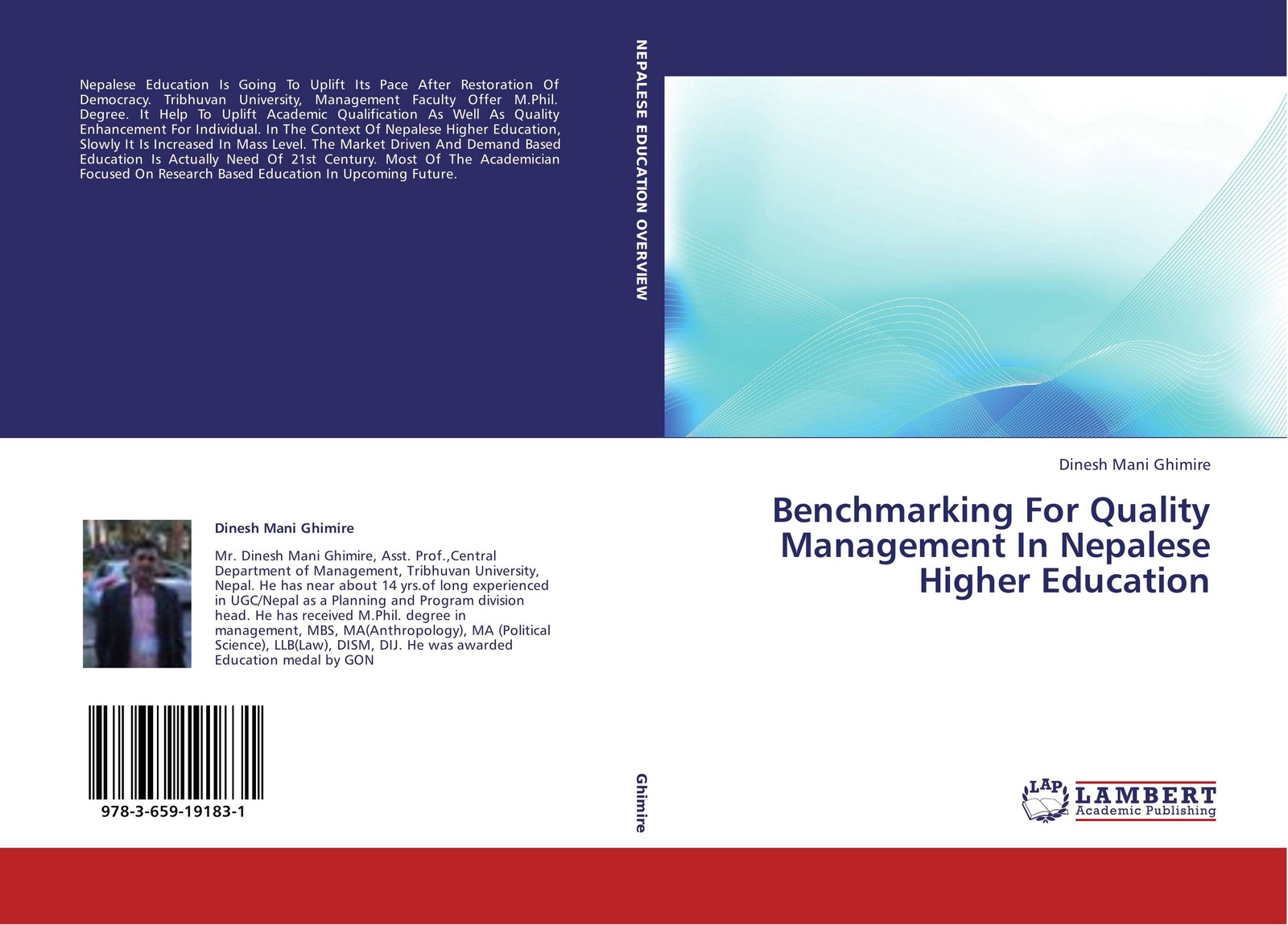 Dinesh Mani Ghimire Benchmarking For Quality Management In Nepalese Higher Education kalpana gopalan total quality management in elementary education