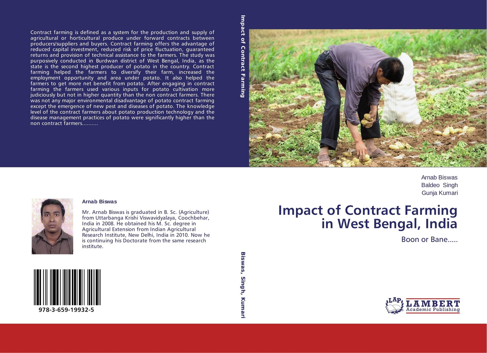 цены на Arnab Biswas,Baldeo Singh and Gunja Kumari Impact of Contract Farming in West Bengal, India  в интернет-магазинах