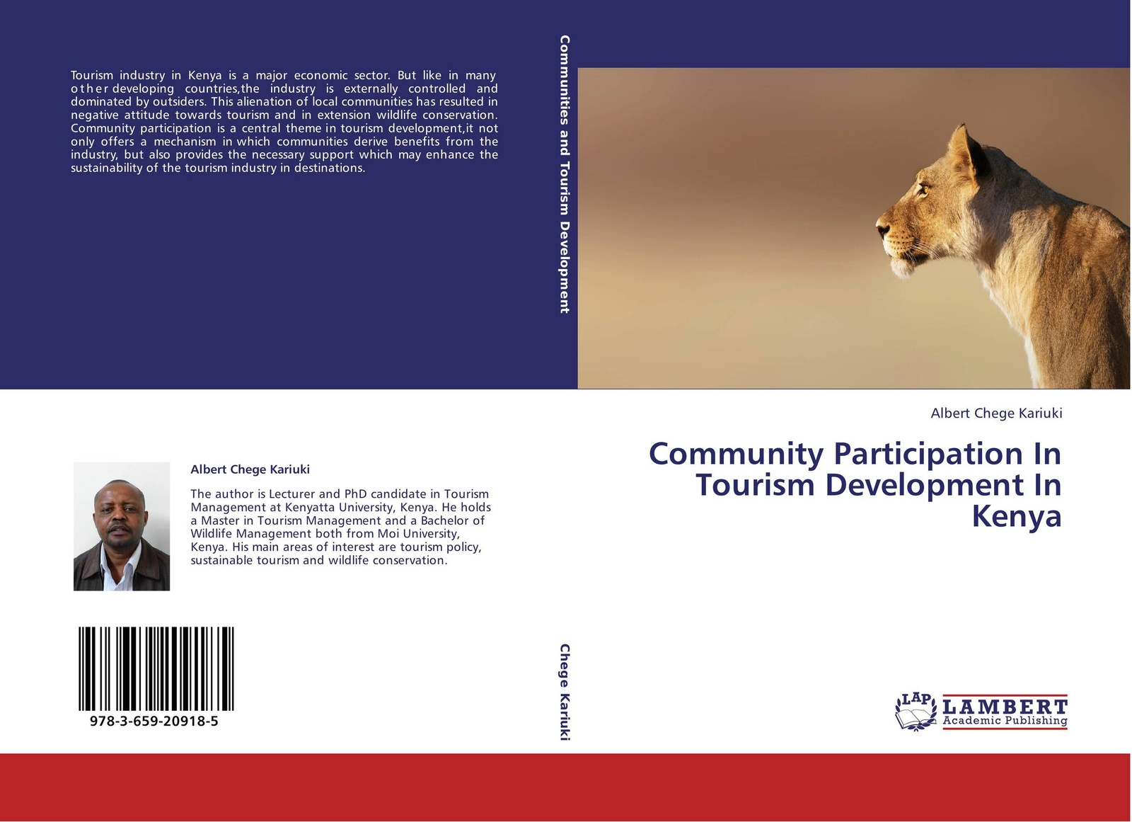 Albert Chege Kariuki Community Participation In Tourism Development In Kenya