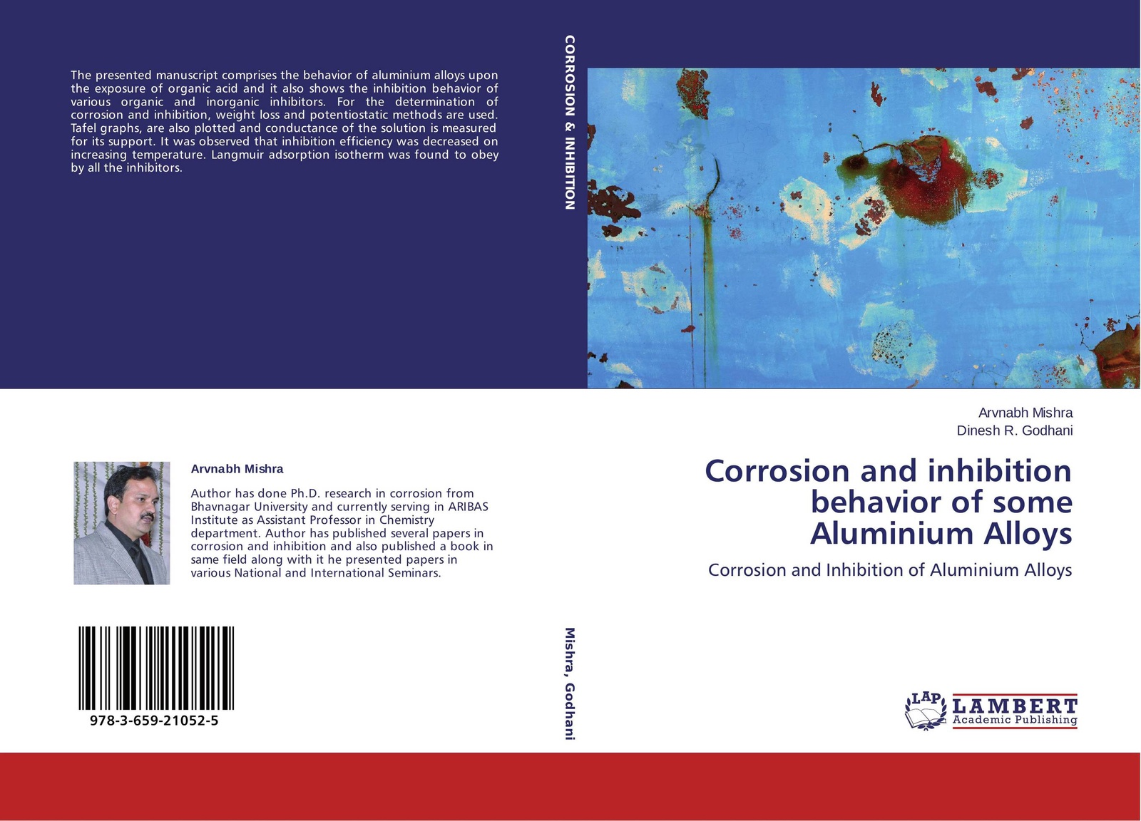 Arvnabh Mishra and Dinesh R. Godhani Corrosion and inhibition behavior of some Aluminium Alloys neha khandelwal protease inhibitors potential and constraints