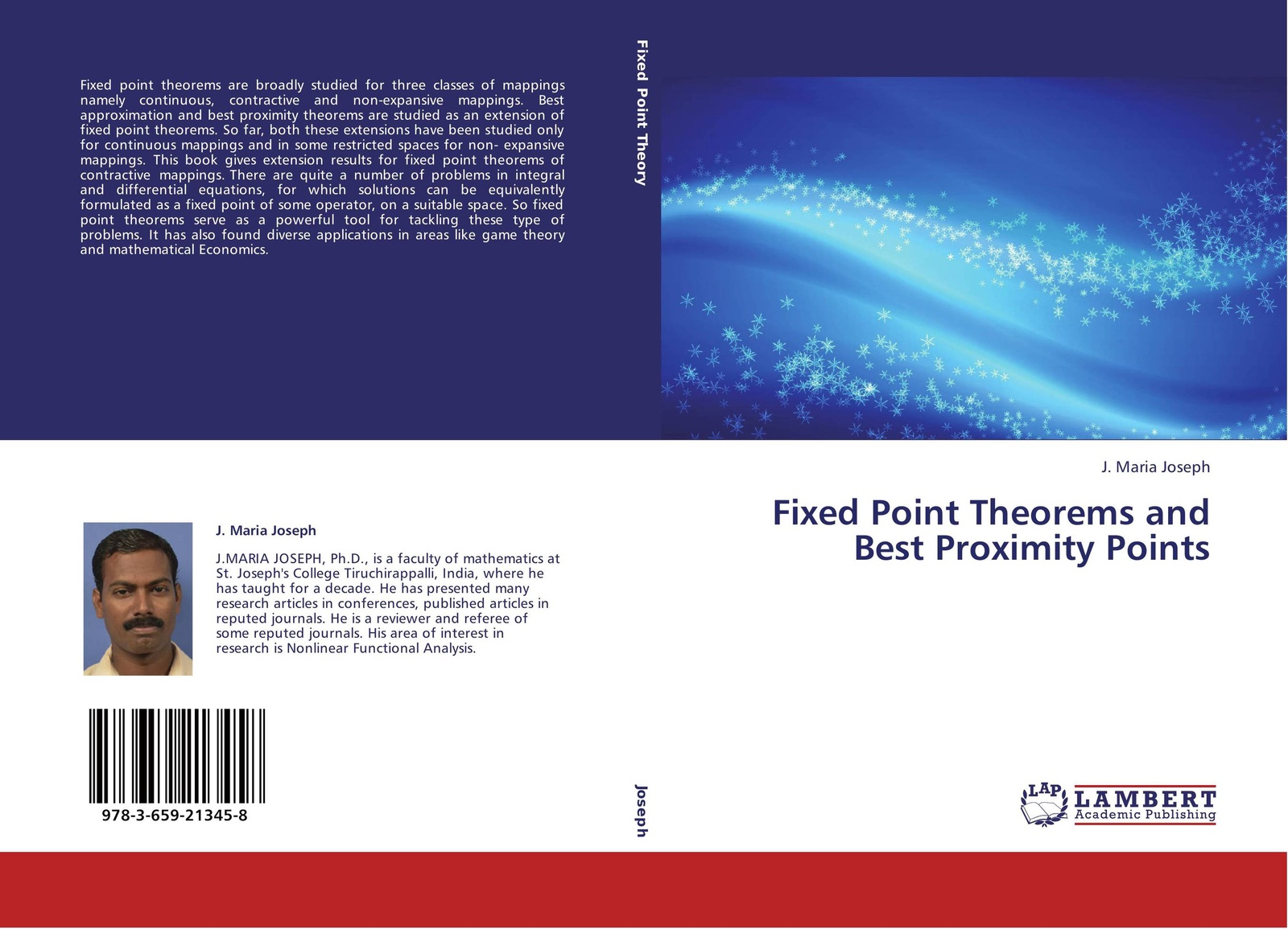 J. Maria Joseph Fixed Point Theorems and Best Proximity Points цены