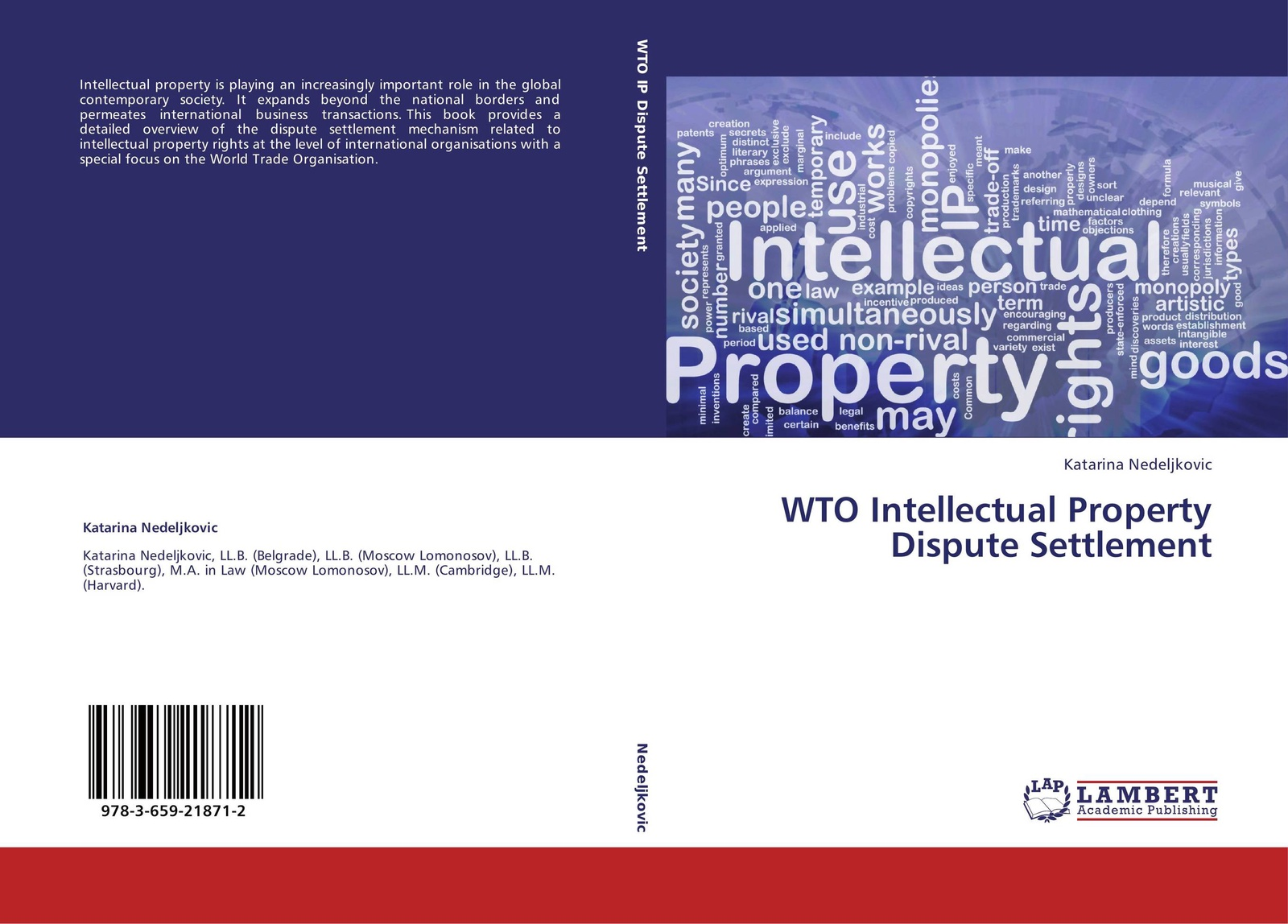 Katarina Nedeljkovic WTO Intellectual Property Dispute Settlement world trade organization dispute settlement reports 2012 volume 9 pages 4583 to 5302