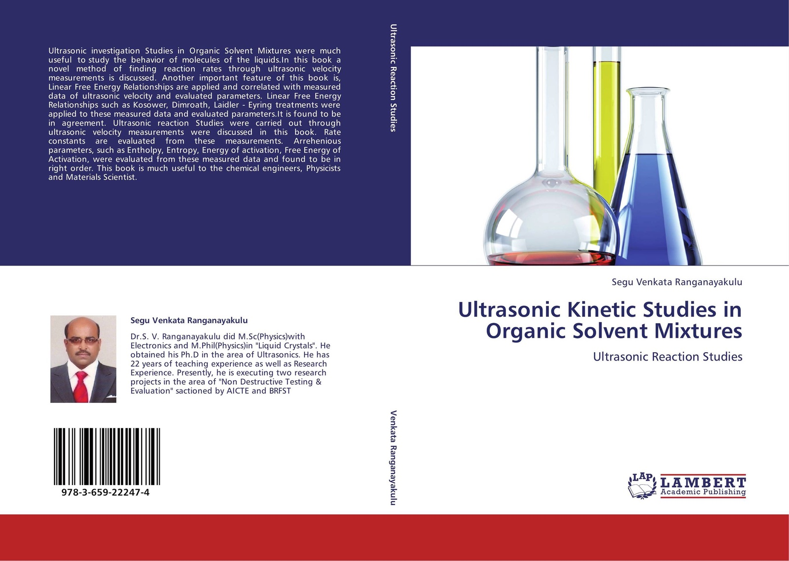 цены Segu Venkata Ranganayakulu Ultrasonic Kinetic Studies in Organic Solvent Mixtures