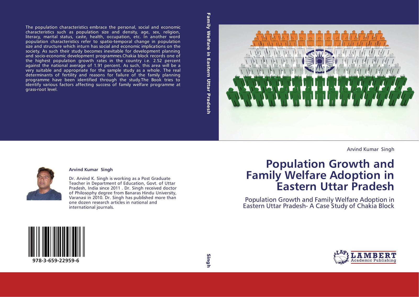 цены Arvind kumar singh Population Growth and Family Welfare Adoption in Eastern Uttar Pradesh