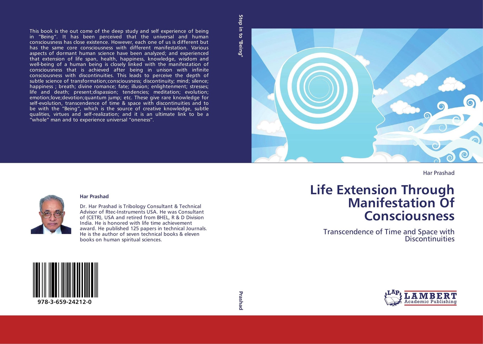 HAR PRASHAD Life Extension Through Manifestation Of Consciousness цена