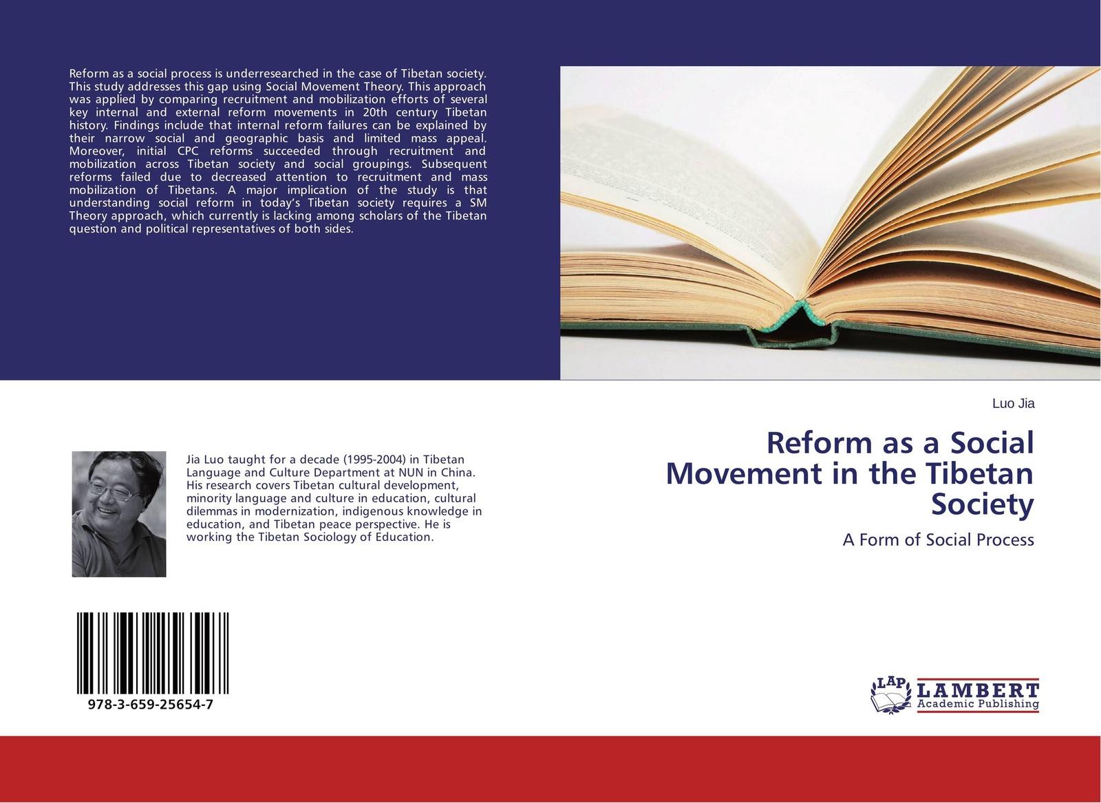 купить Luo Jia Reform as a Social Movement in the Tibetan Society по цене 4419 рублей