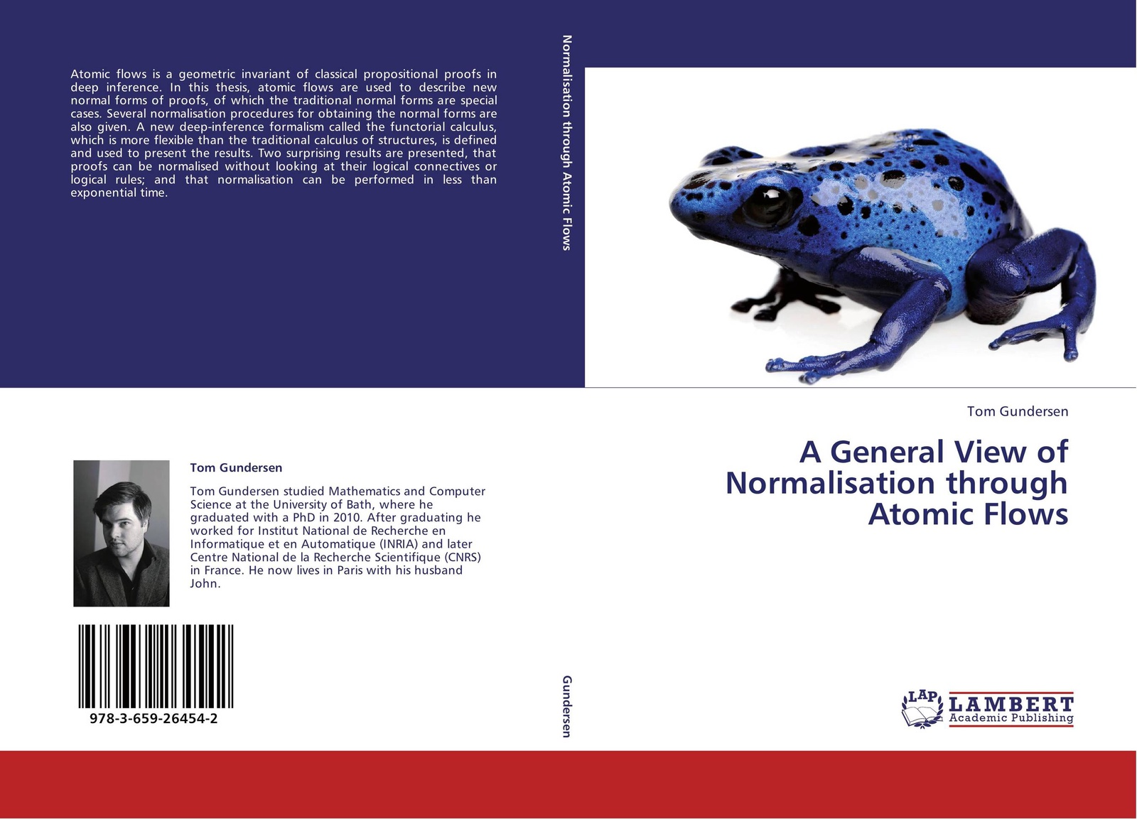 Tom Gundersen A General View of Normalisation through Atomic Flows 1c31122g01 used in good condition can normal working
