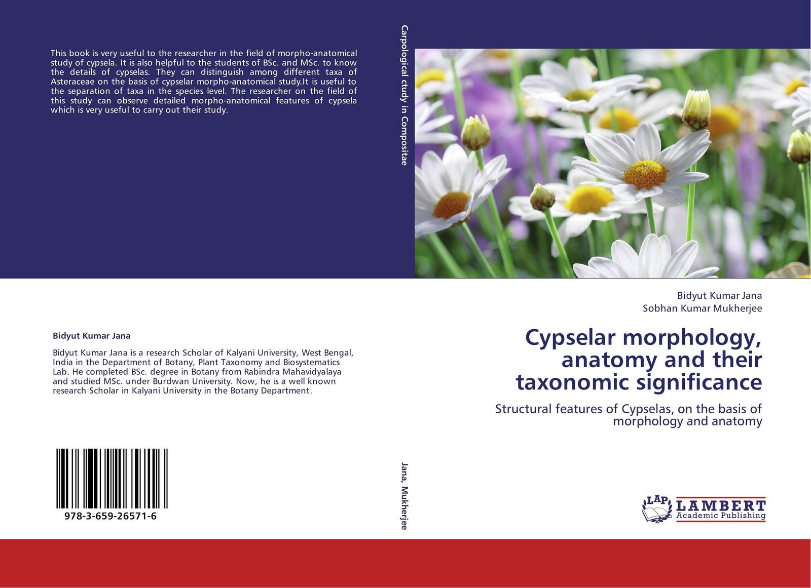 Bidyut Kumar Jana and Sobhan Mukherjee Cypselar morphology, anatomy their taxonomic significance