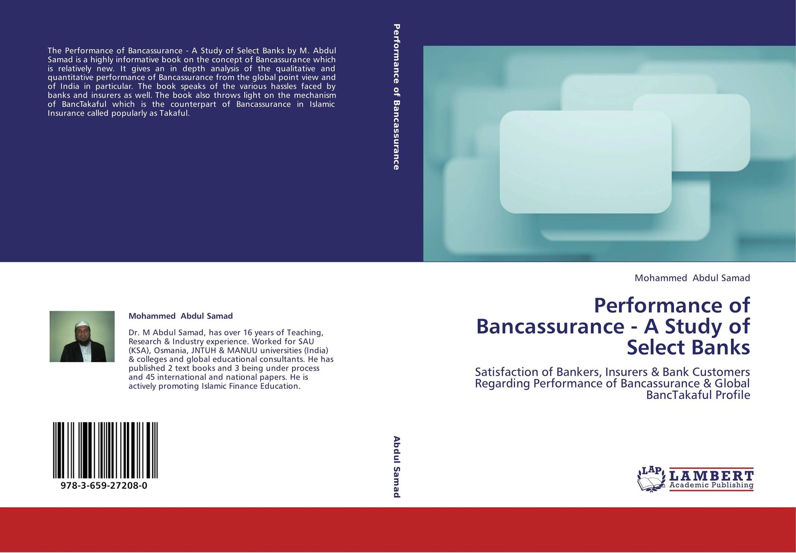 Mohammed Abdul Samad Performance of Bancassurance - A Study of Select Banks whether profit is the only determinant of performance a study on smes