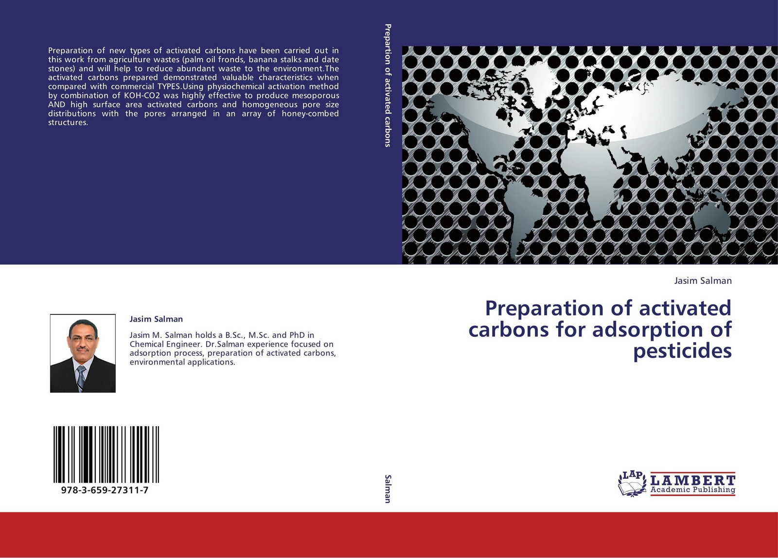 Jasim Salman Preparation of activated carbons for adsorption of pesticides waya phutdhawong melissa agustin and weerachai phutdhawong utilization of palm oil mill wastes