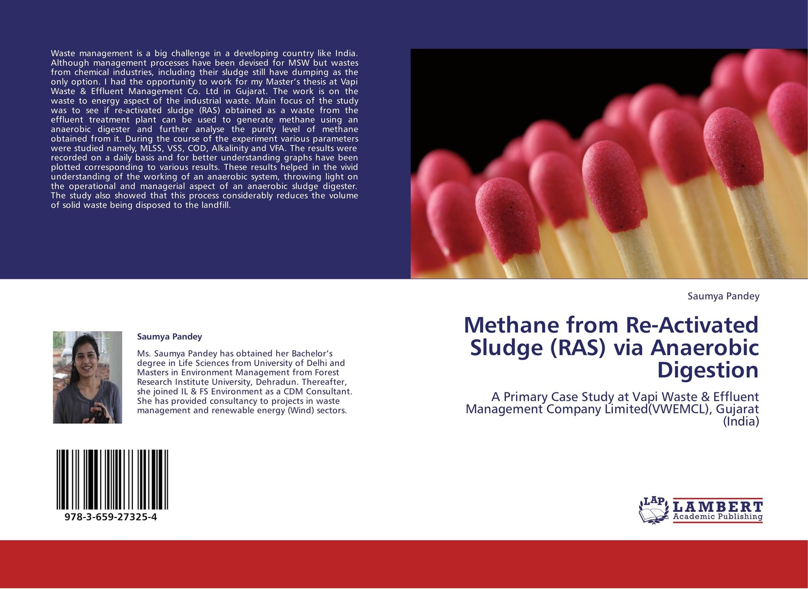 Saumya Pandey Methane from Re-Activated Sludge (RAS) via Anaerobic Digestion alireza bahadori waste management in the chemical and petroleum industries