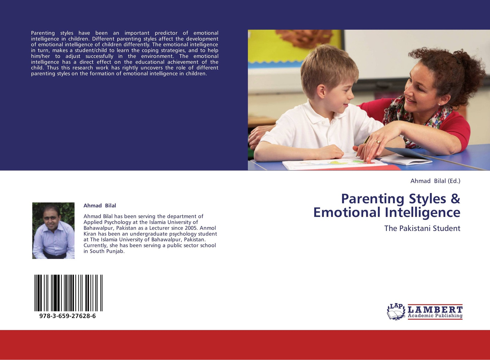 Ahmad Bilal Parenting Styles & Emotional Intelligence michael e lamb the role of the father in child development