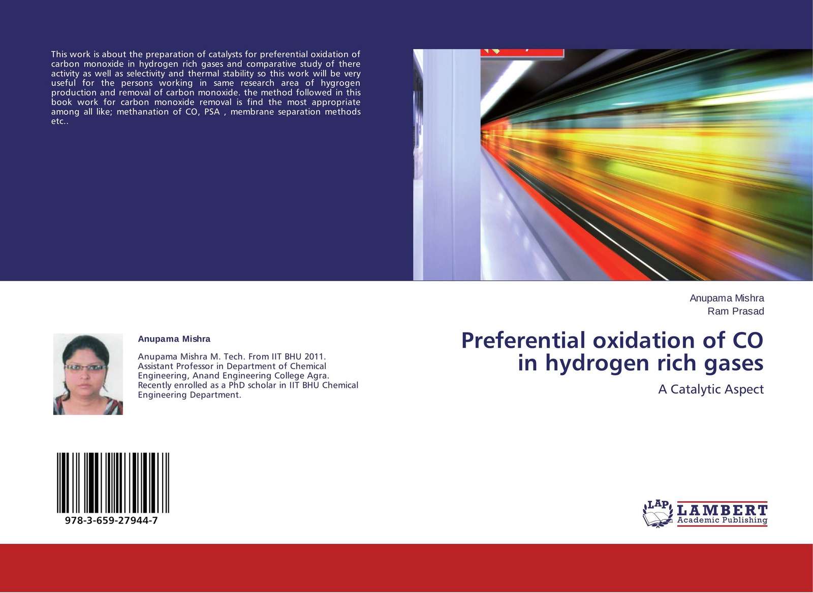Anupama Mishra and Ram Prasad Preferential oxidation of CO in hydrogen rich gases oxidation of sugars
