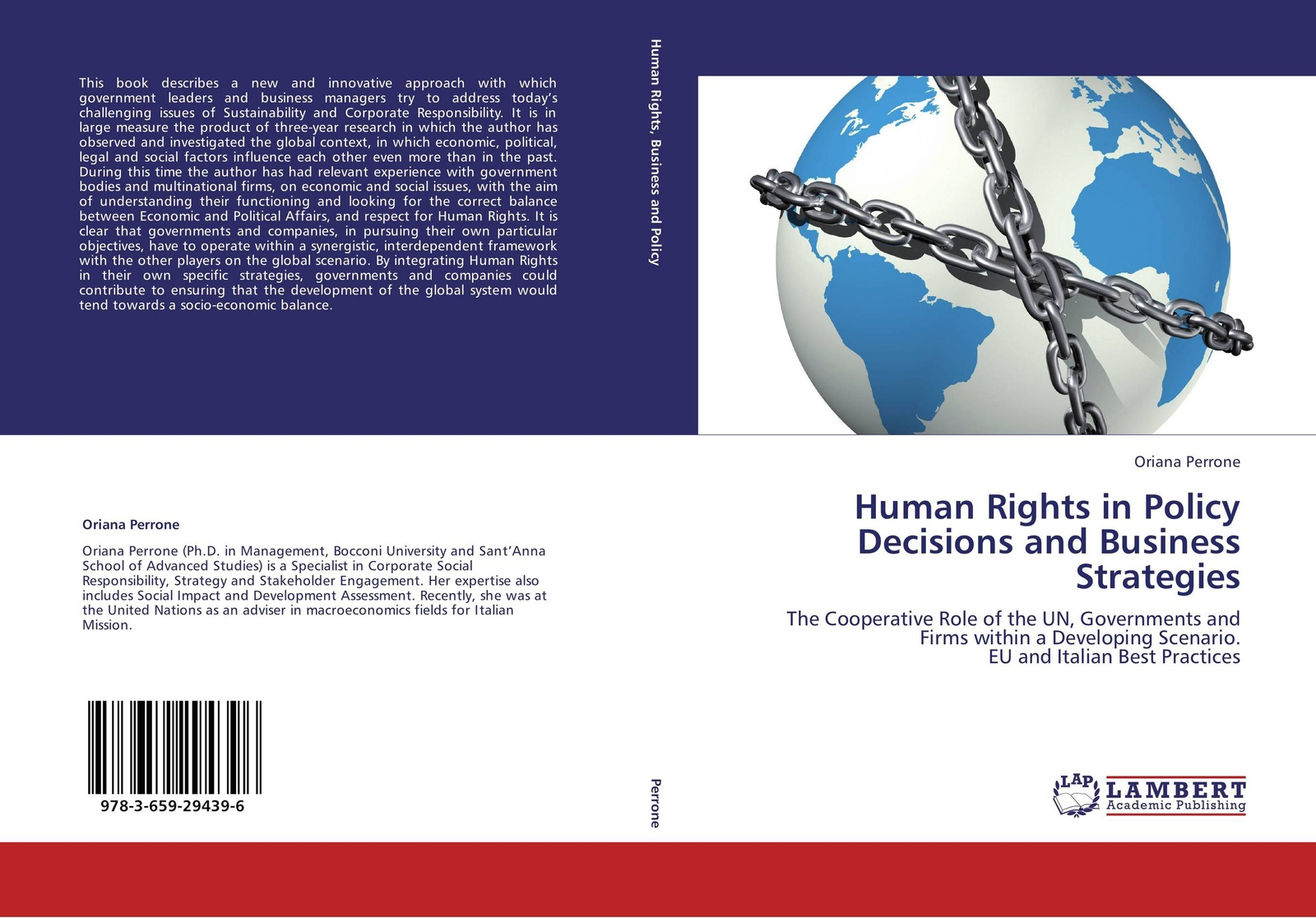 Oriana Perrone Human Rights in Policy Decisions and Business Strategies недорго, оригинальная цена