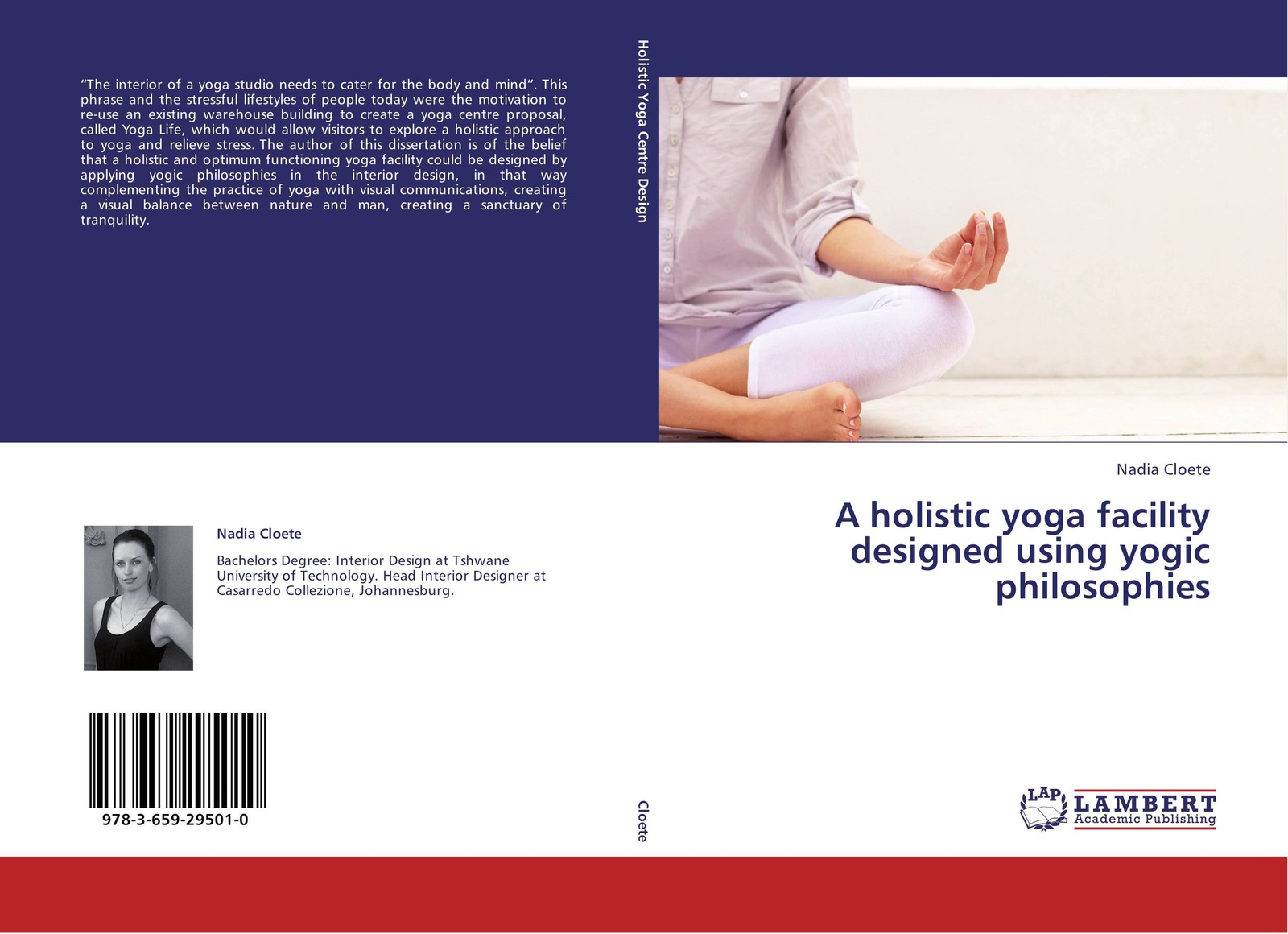Nadia Cloete A holistic yoga facility designed using yogic philosophies nancy liebler ph d healing depression the mind body way creating happiness with meditation yoga and ayurveda