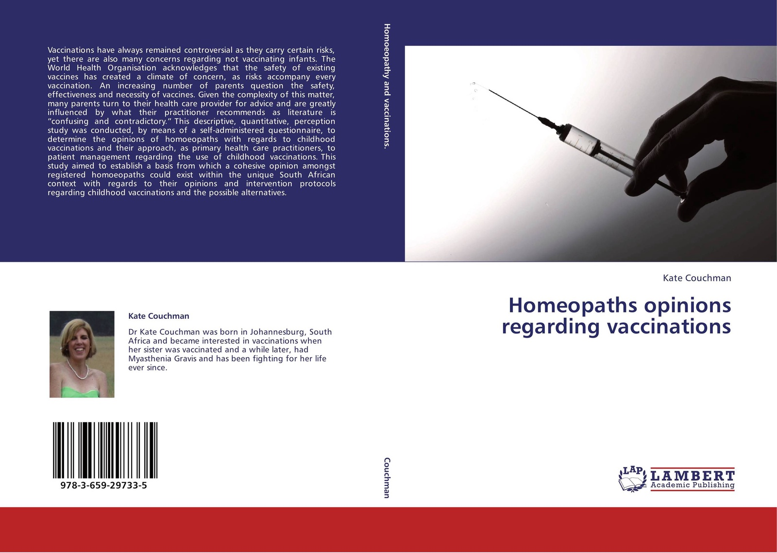 Kate Couchman Homeopaths opinions regarding vaccinations economic and biological aspects of vaccinations