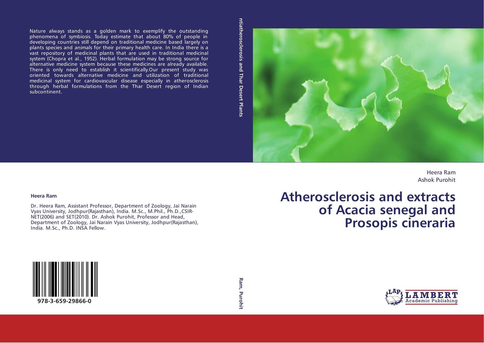 цены на Heera Ram and Ashok Purohit Atherosclerosis and extracts of Acacia senegal and Prosopis cineraria  в интернет-магазинах