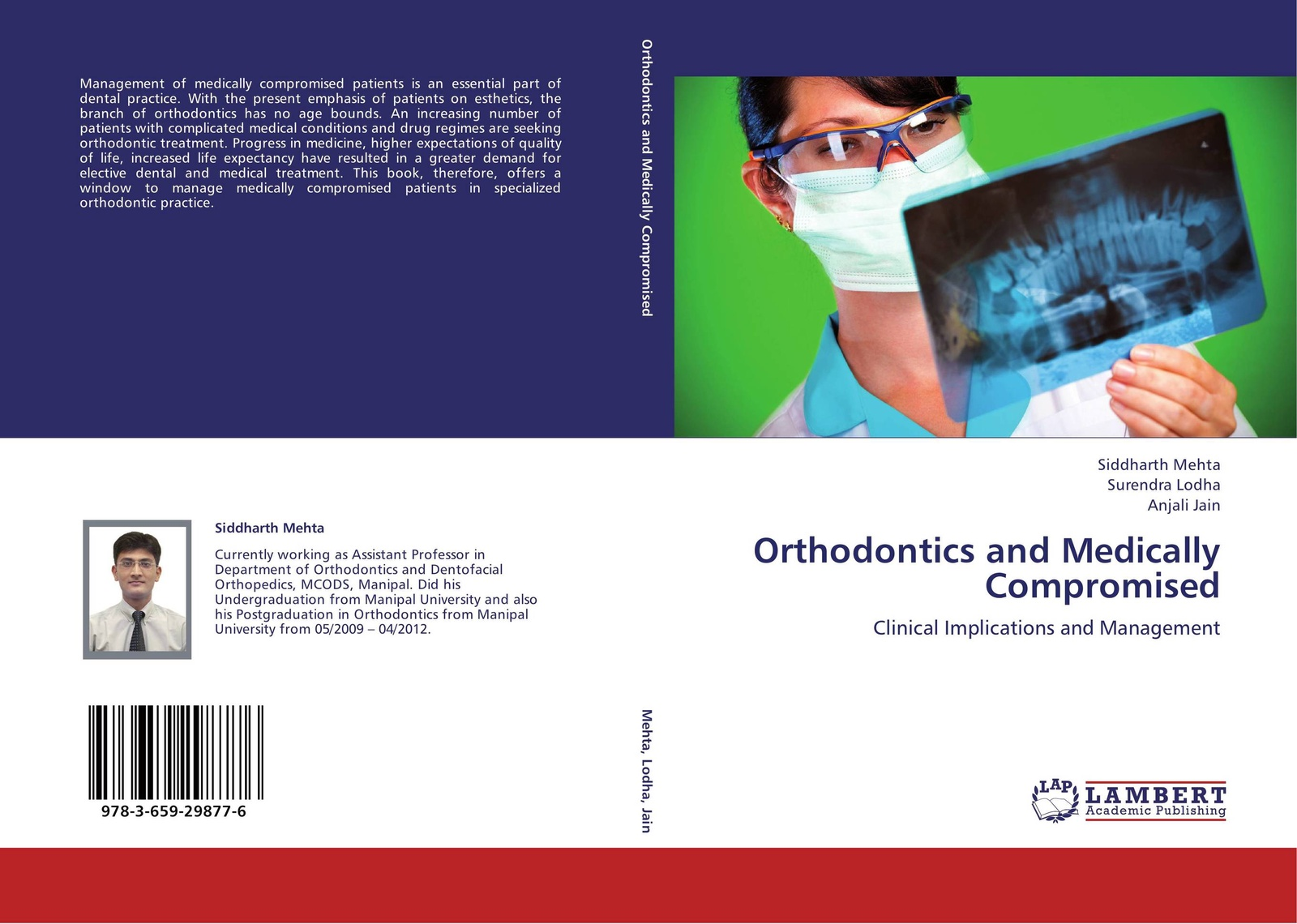 Siddharth Mehta,Surendra Lodha and Anjali Jain Orthodontics and Medically Compromised peter lockhart b oral medicine and medically complex patients