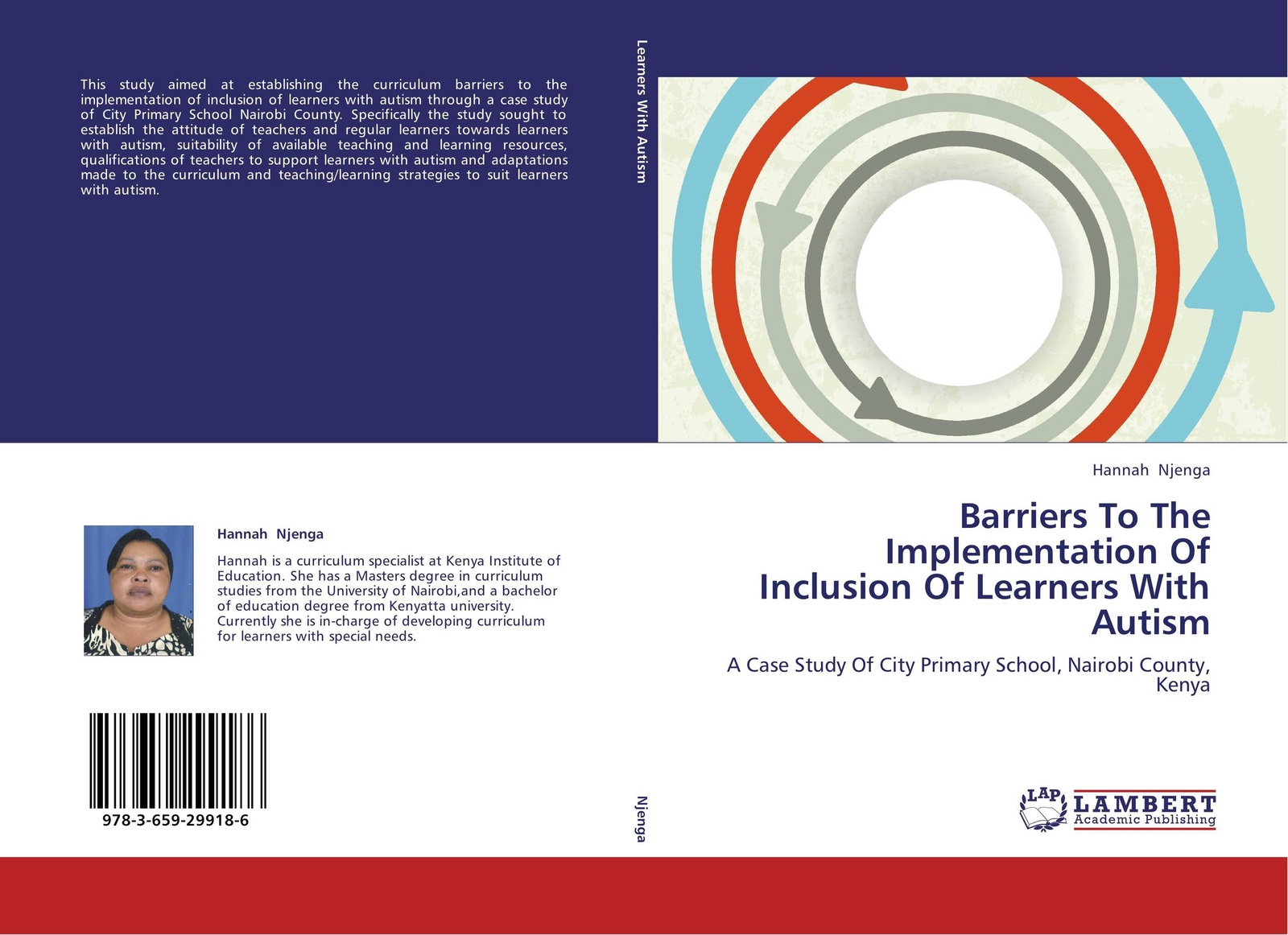 Hannah Njenga Barriers To The Implementation Of Inclusion Of Learners With Autism