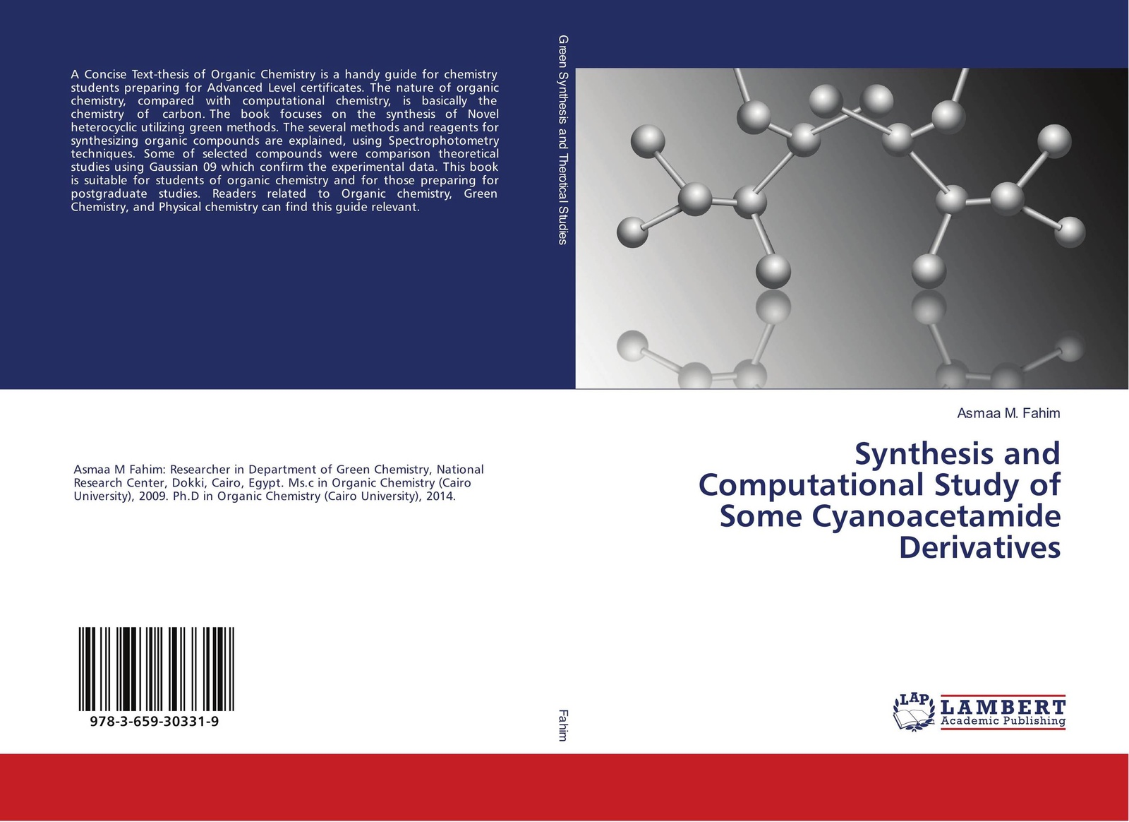 Asmaa M. Fahim Synthesis and Computational Study of Some Cyanoacetamide Derivatives kurt kolasinski w physical chemistry how chemistry works