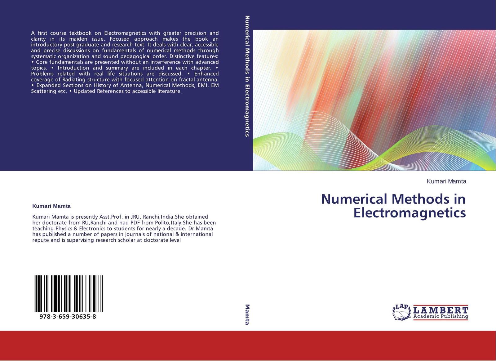 Kumari Mamta Numerical Methods in Electromagnetics