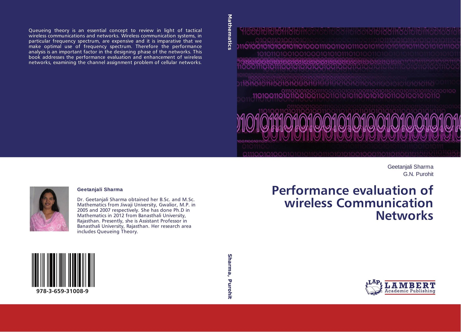 Geetanjali Sharma and G.N. Purohit Performance evaluation of wireless Communication Networks poellabauer christian fundamentals of wireless sensor networks theory and practice