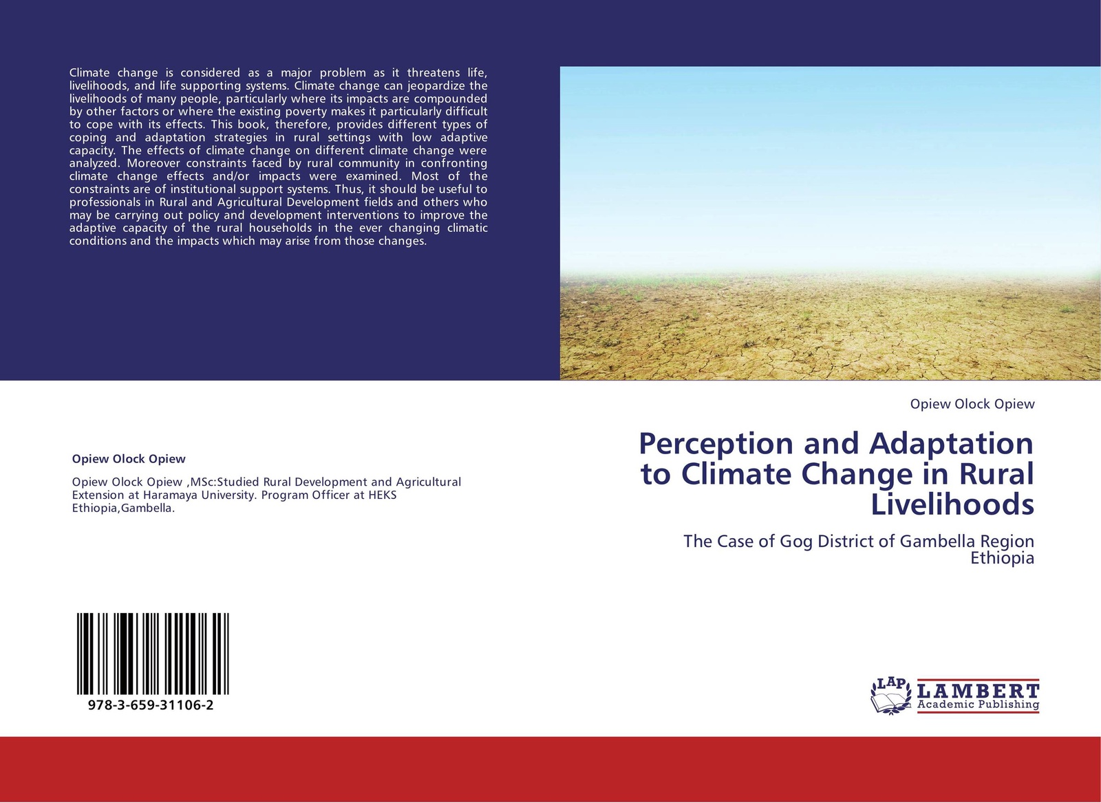 Opiew Olock Opiew Perception and Adaptation to Climate Change in Rural Livelihoods impacts of climate change on groundwater