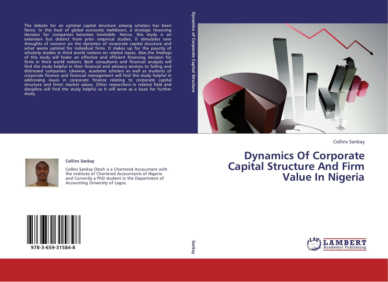 лучшая цена Collins Sankay Dynamics Of Corporate Capital Structure And Firm Value In Nigeria