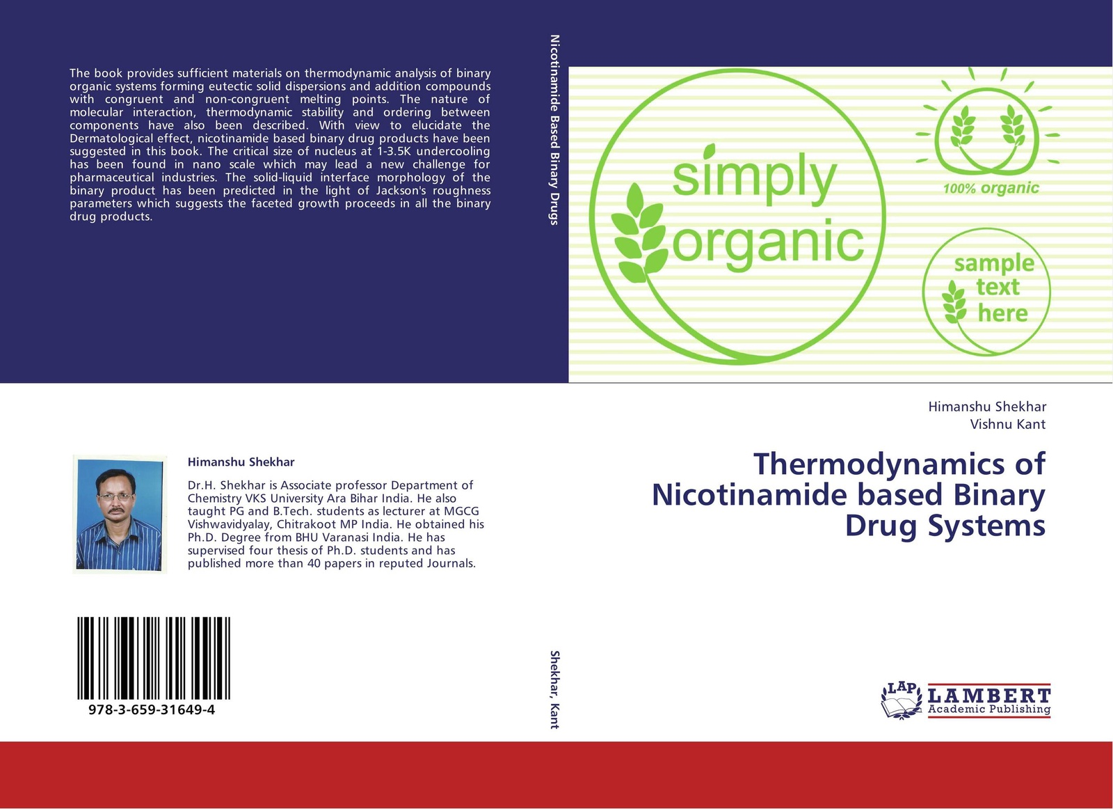 Himanshu Shekhar and Vishnu Kant Thermodynamics of Nicotinamide based Binary Drug Systems binary star