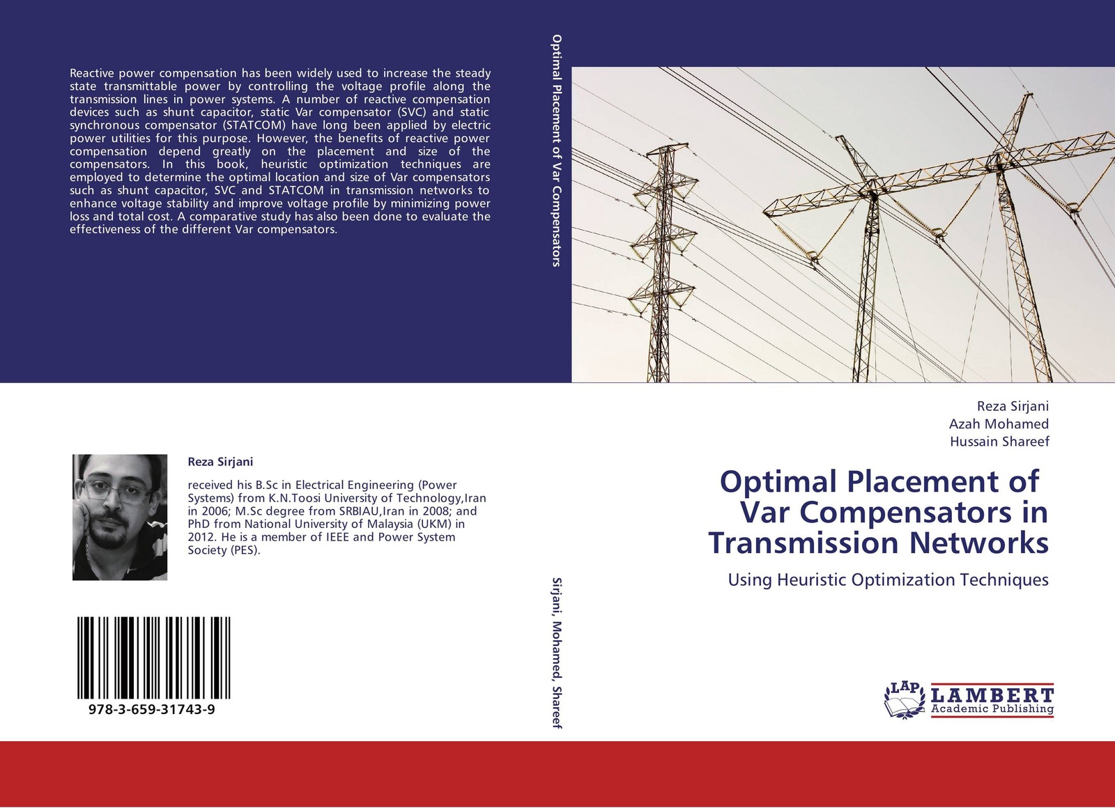 Reza Sirjani,Azah Mohamed and Hussain Shareef Optimal Placement of Var Compensators in Transmission Networks цены онлайн