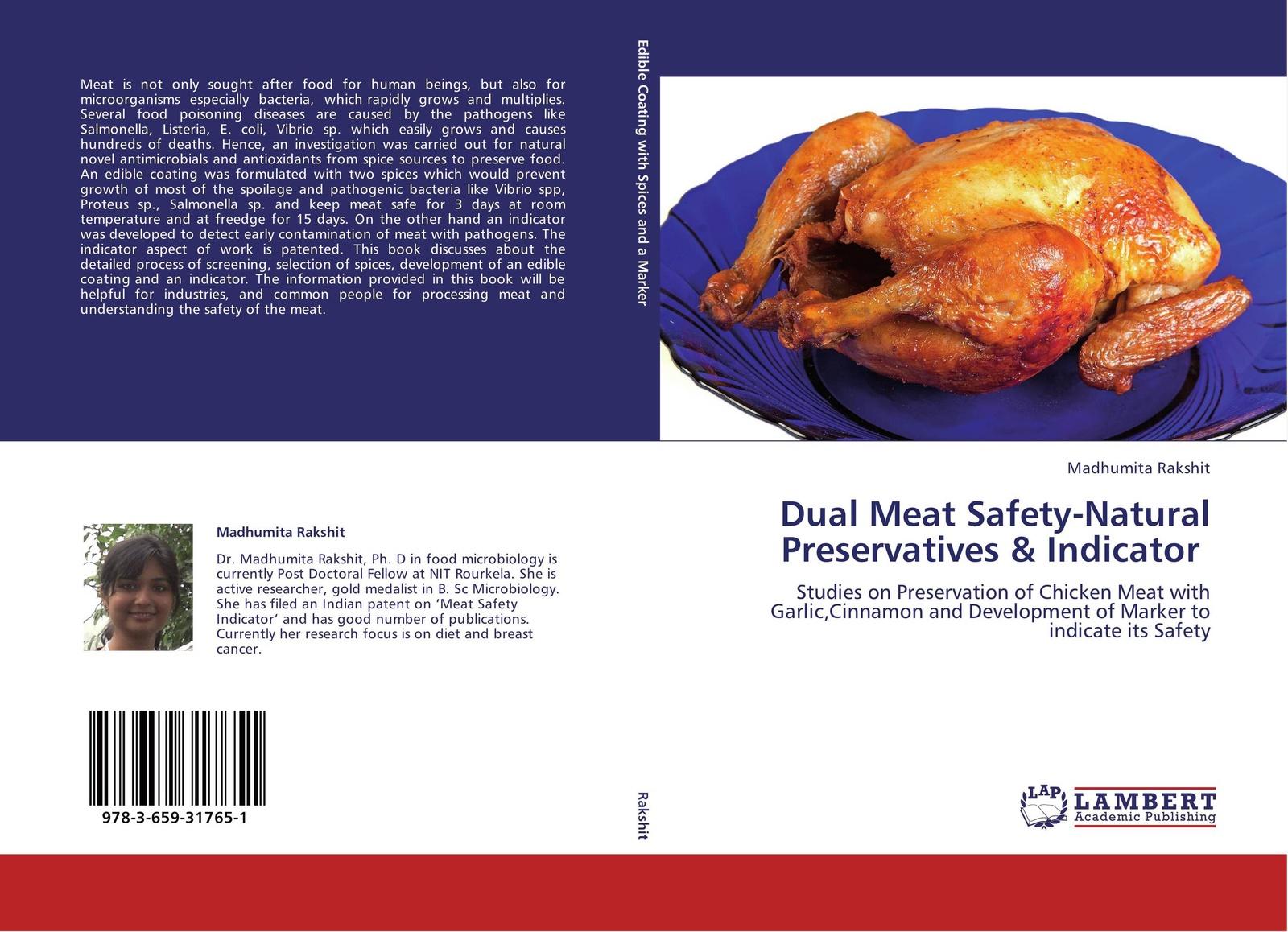 купить Madhumita Rakshit Dual Meat Safety-Natural Preservatives & Indicator по цене 4749 рублей