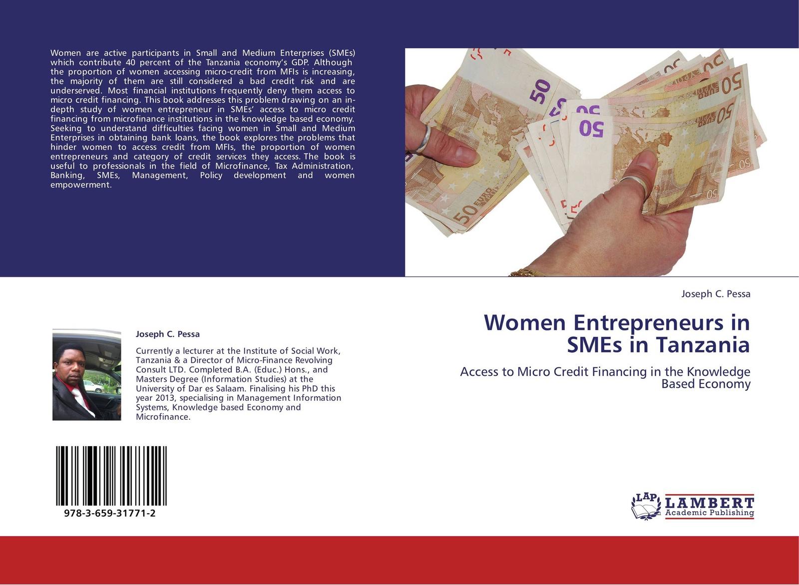 Фото - Joseph C. Pessa Women Entrepreneurs in SMEs in Tanzania sabina sultana and shaikh shamim hasan impact of micro credit on empowerment of rural women in bangladesh