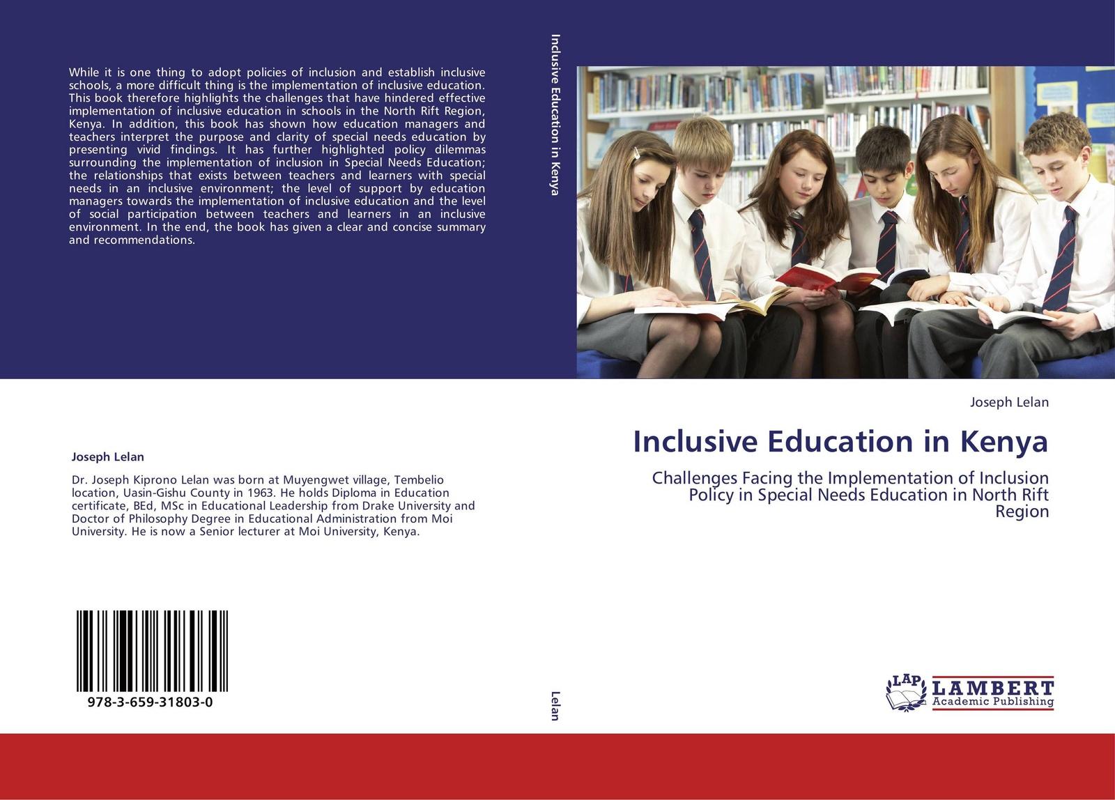 Joseph Lelan Inclusive Education in Kenya joseph lelan inclusive education in kenya