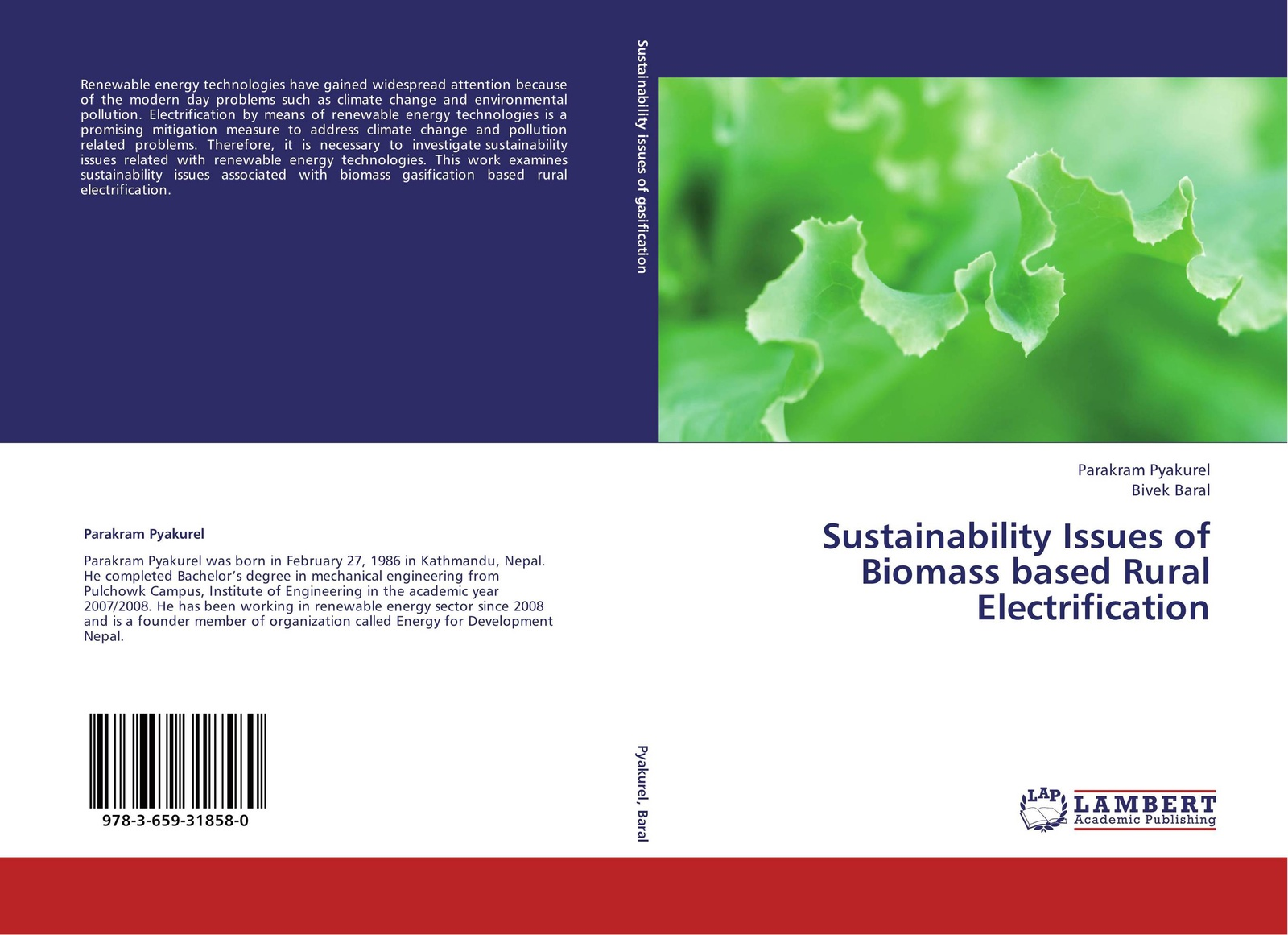 Parakram Pyakurel and Bivek Baral Sustainability Issues of Biomass based Rural Electrification wu ying acid gas injection and related technologies