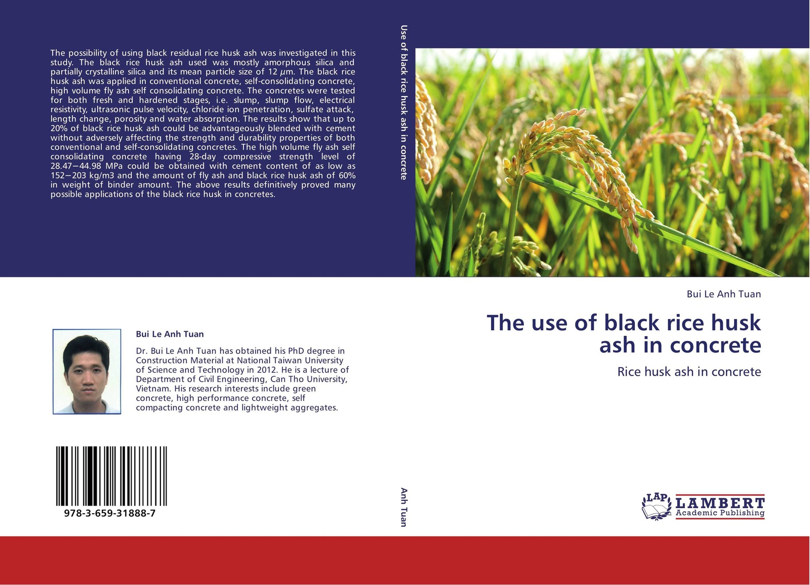 Bui Le Anh Tuan The use of black rice husk ash in concrete