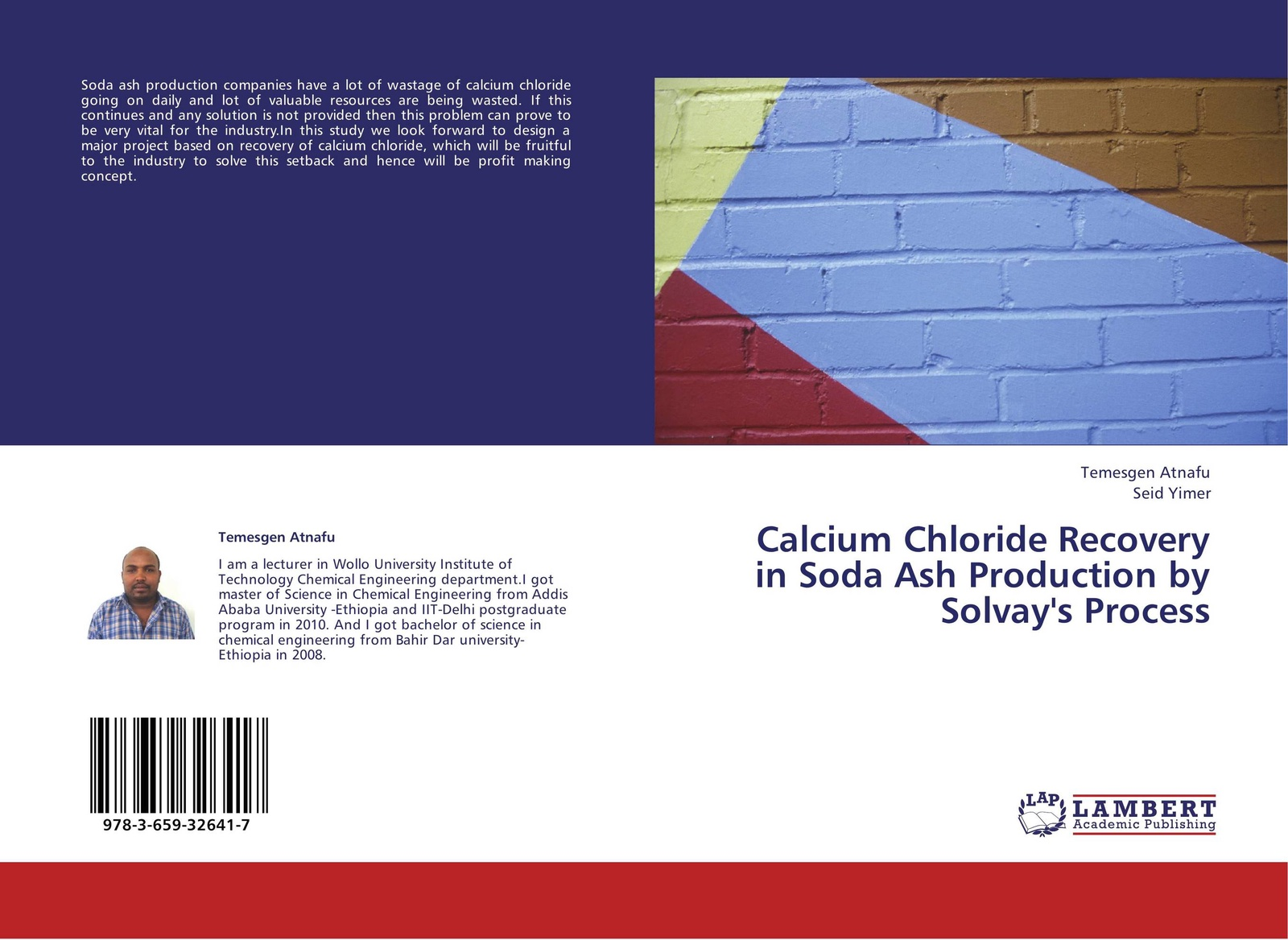 Temesgen Atnafu and Seid Yimer Calcium Chloride Recovery in Soda Ash Production by Solvay's Process seid yimer returns to education and wage differential