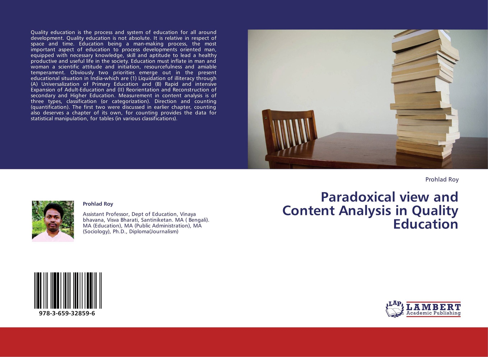 Prohlad Roy Paradoxical view and Content Analysis in Quality Education muhammad altaf qureshi universalization of primary education in pakistan