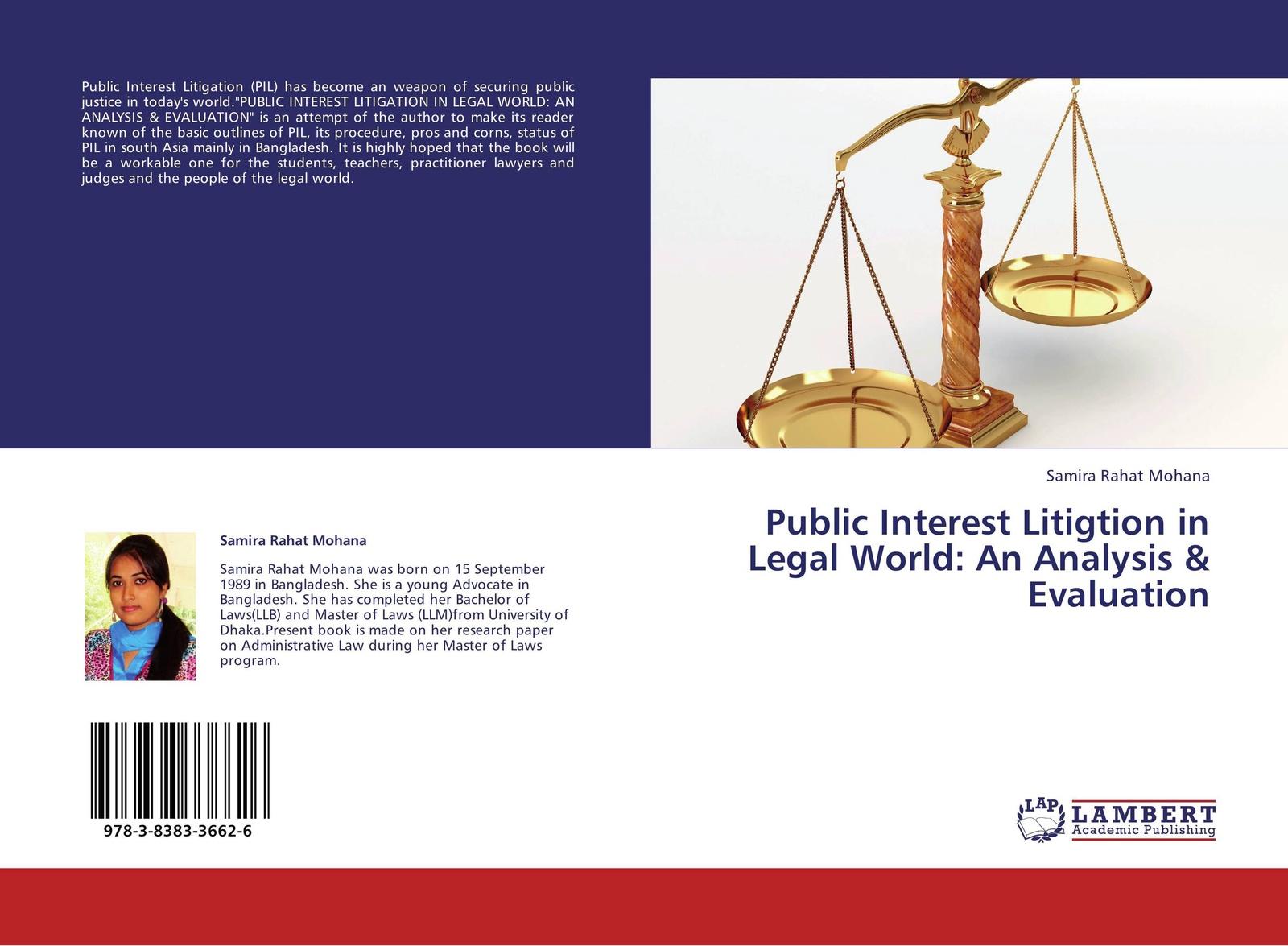 все цены на Samira Rahat Mohana Public Interest Litigtion in Legal World: An Analysis & Evaluation онлайн