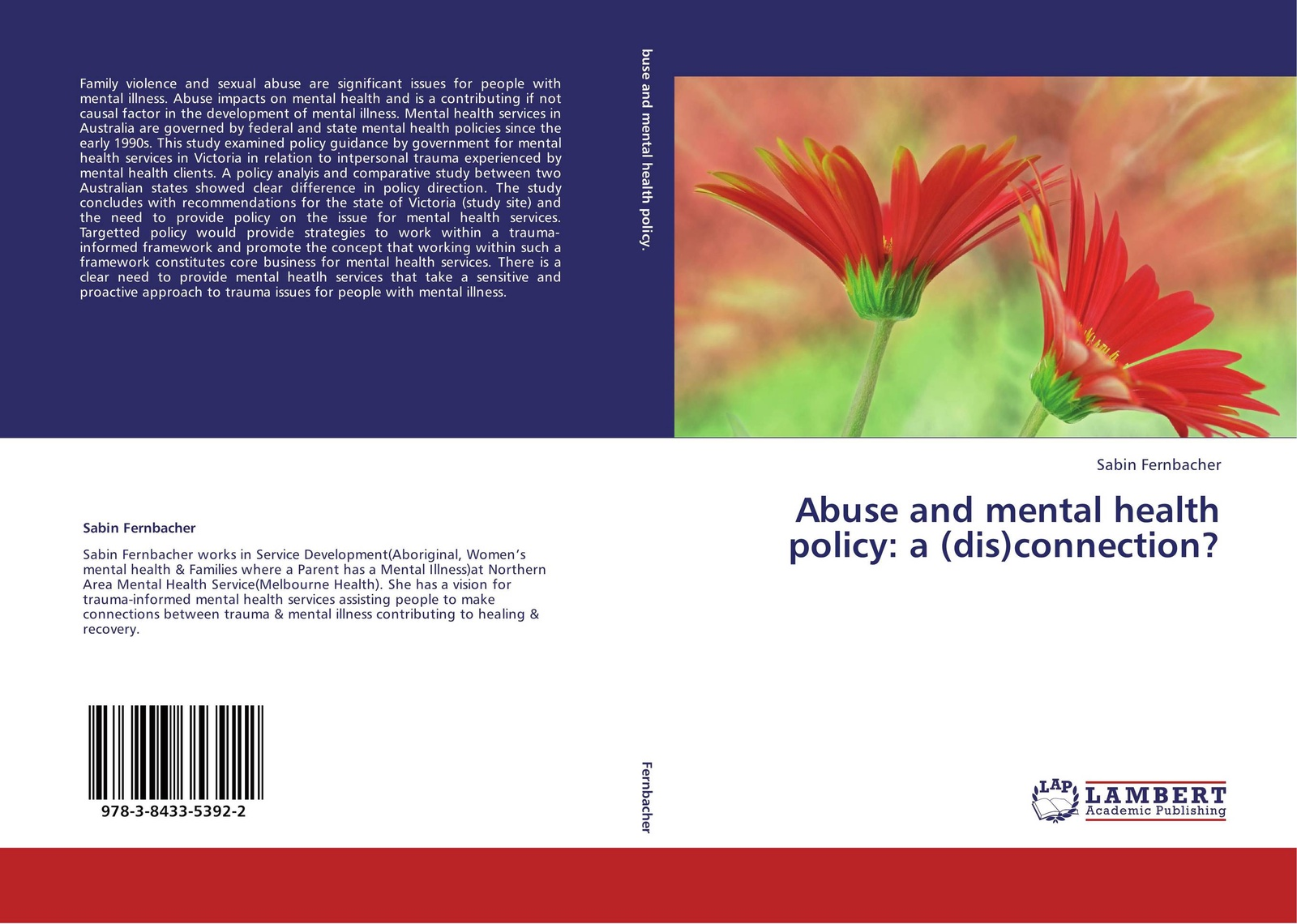 Sabin Fernbacher Abuse and mental health policy: a (dis)connection? walker carl work and the mental health crisis in britain