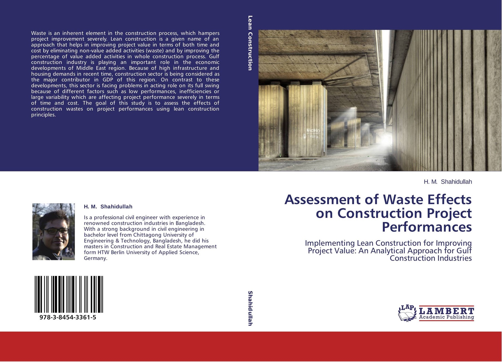 H. M. Shahidullah Assessment of Waste Effects on Construction Project Performances girma zawdie construction innovation and process improvement