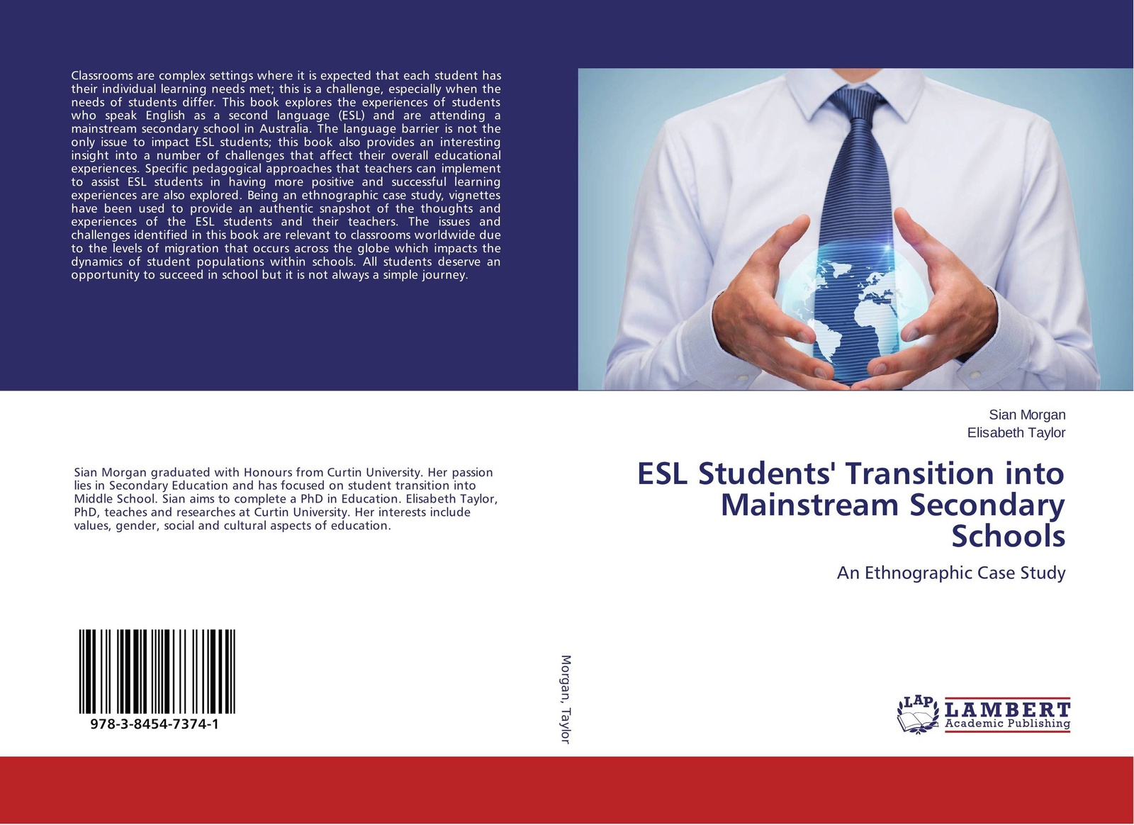 Sian Morgan and Elisabeth Taylor ESL Students' Transition into Mainstream Secondary Schools